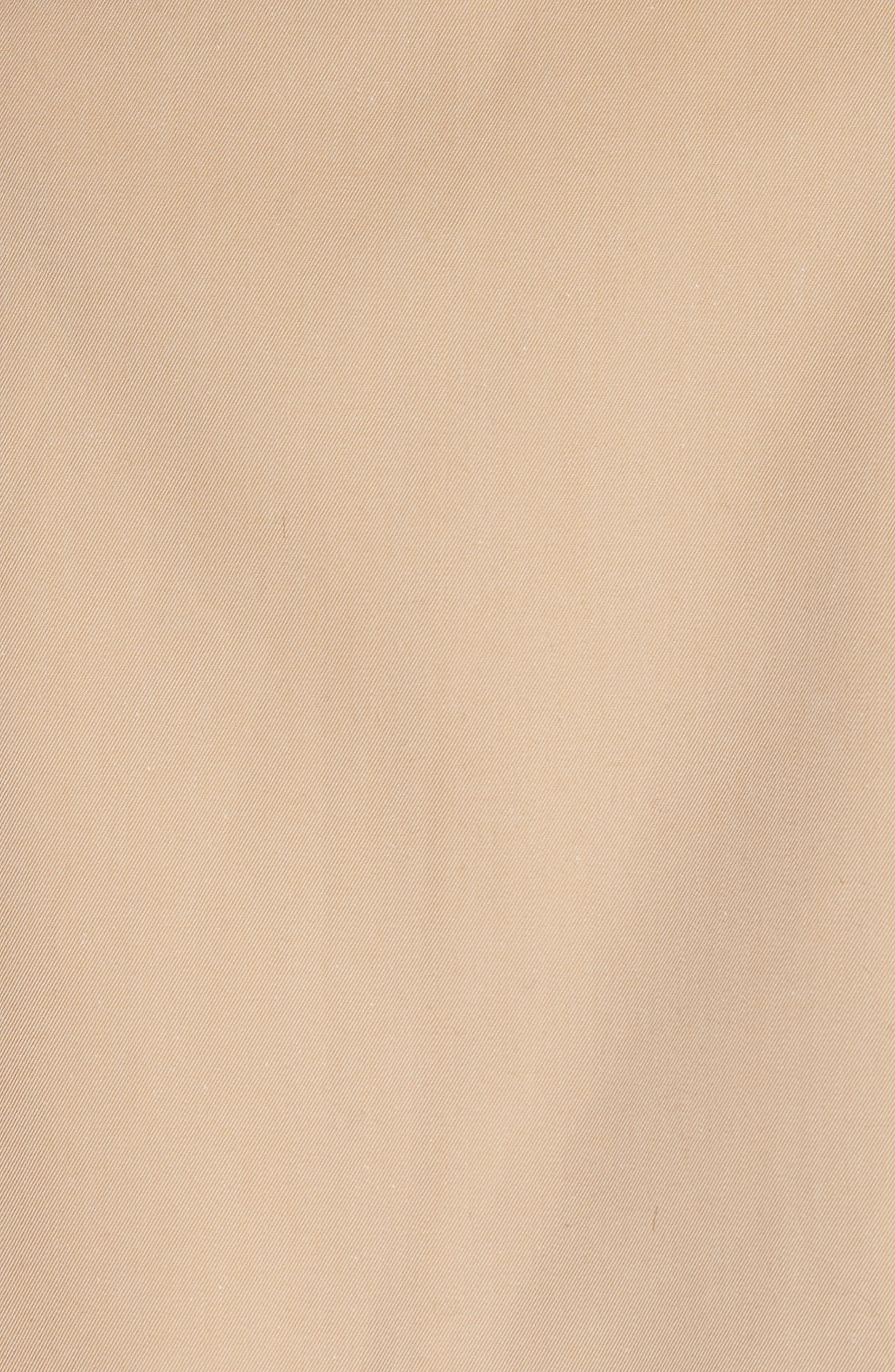 Fortingall Cotton Gabardine Trench Coat,                             Alternate thumbnail 5, color,                             Honey