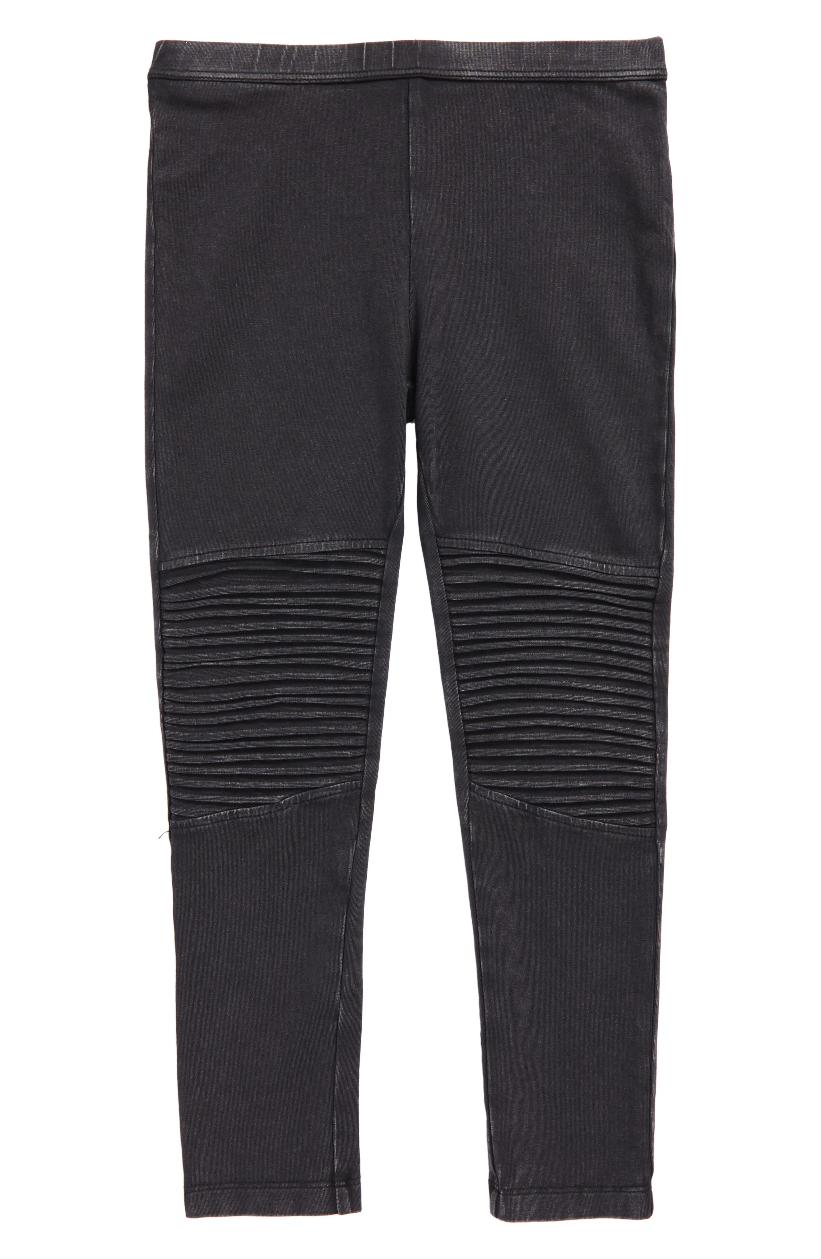 Moto Leggings,                         Main,                         color, Black Wash