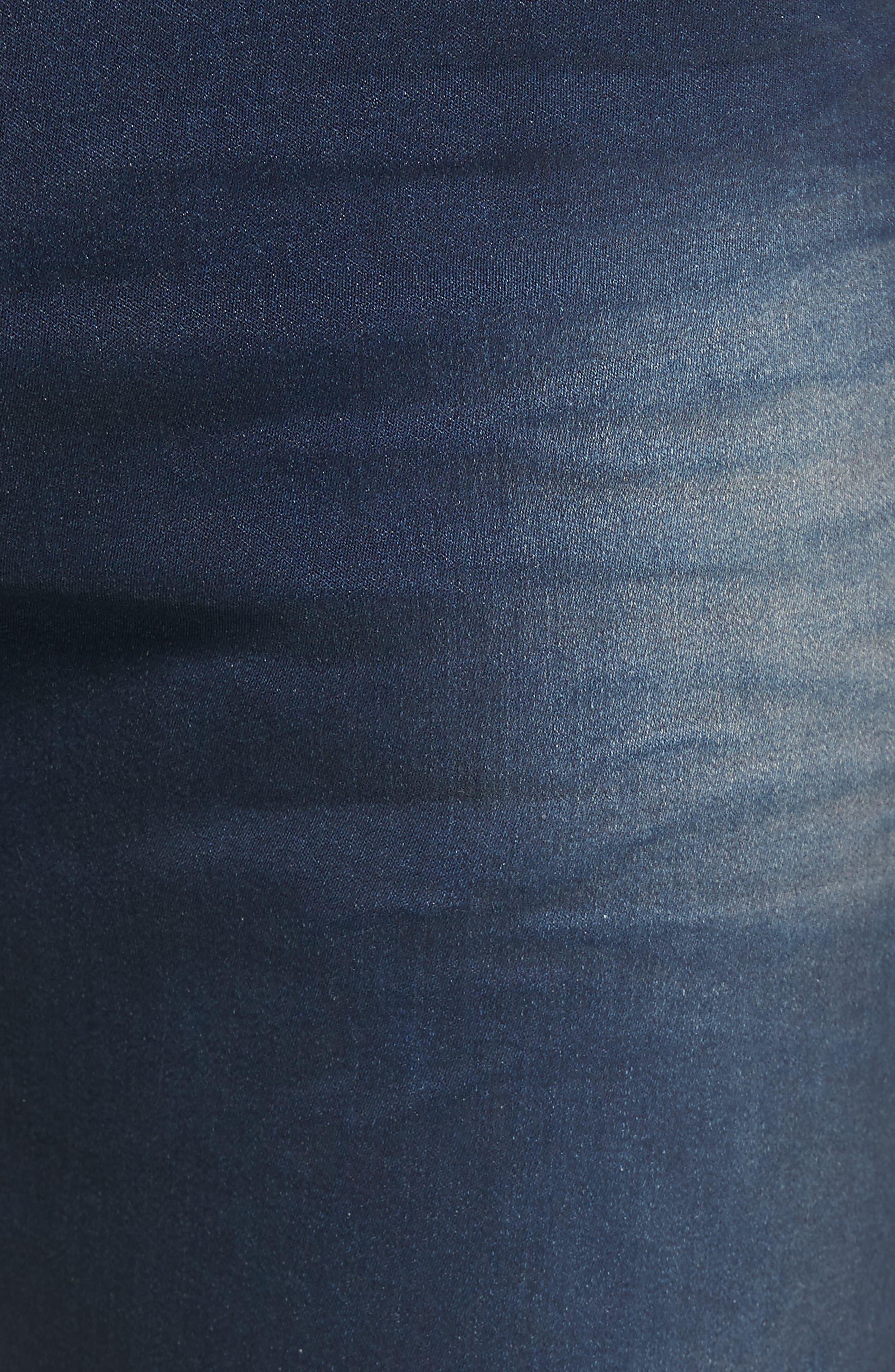 Geno Straight Leg Jeans,                             Alternate thumbnail 5, color,                             Dark Navy