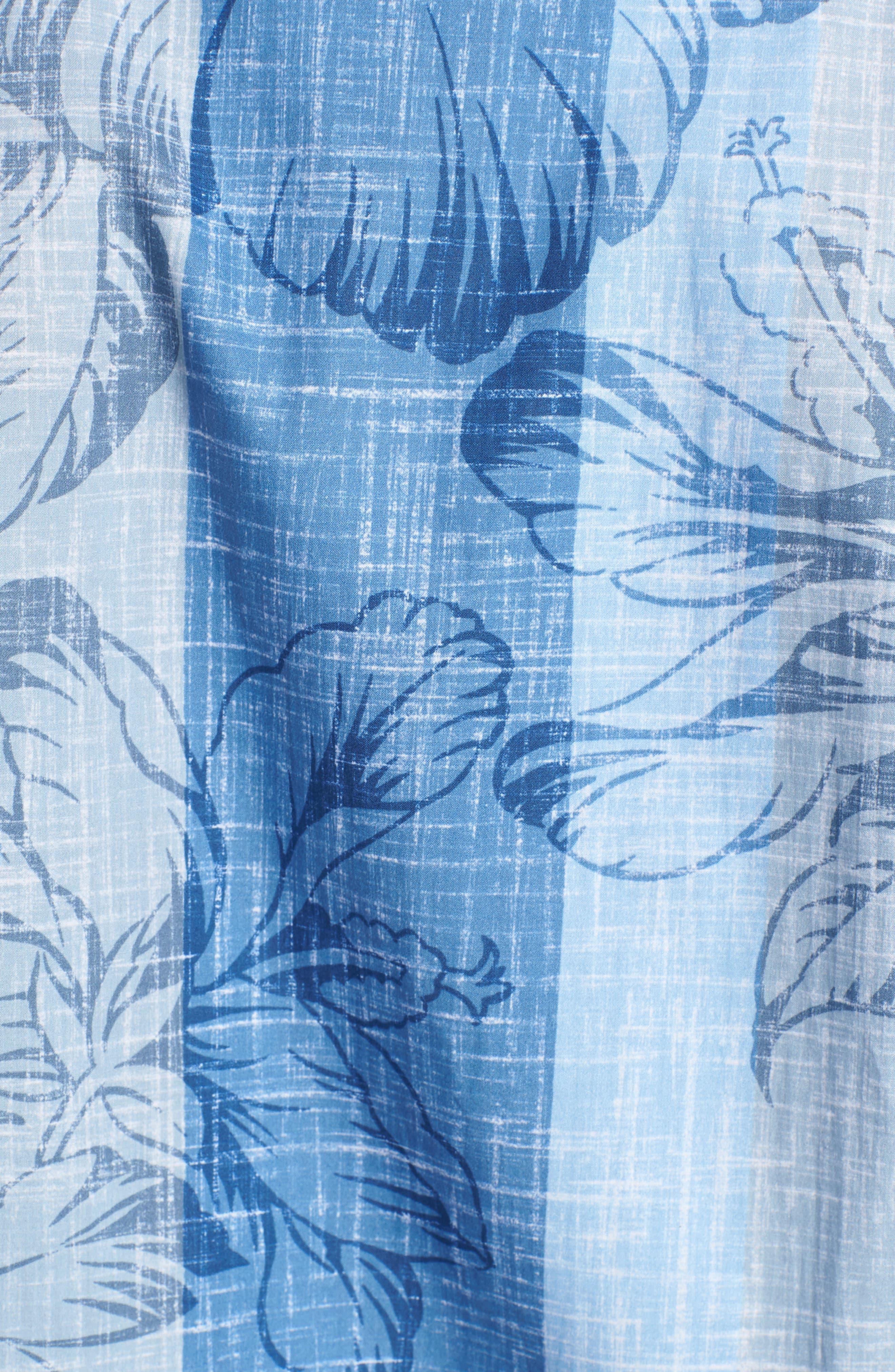 Sport Shirt,                             Alternate thumbnail 5, color,                             Air Blue