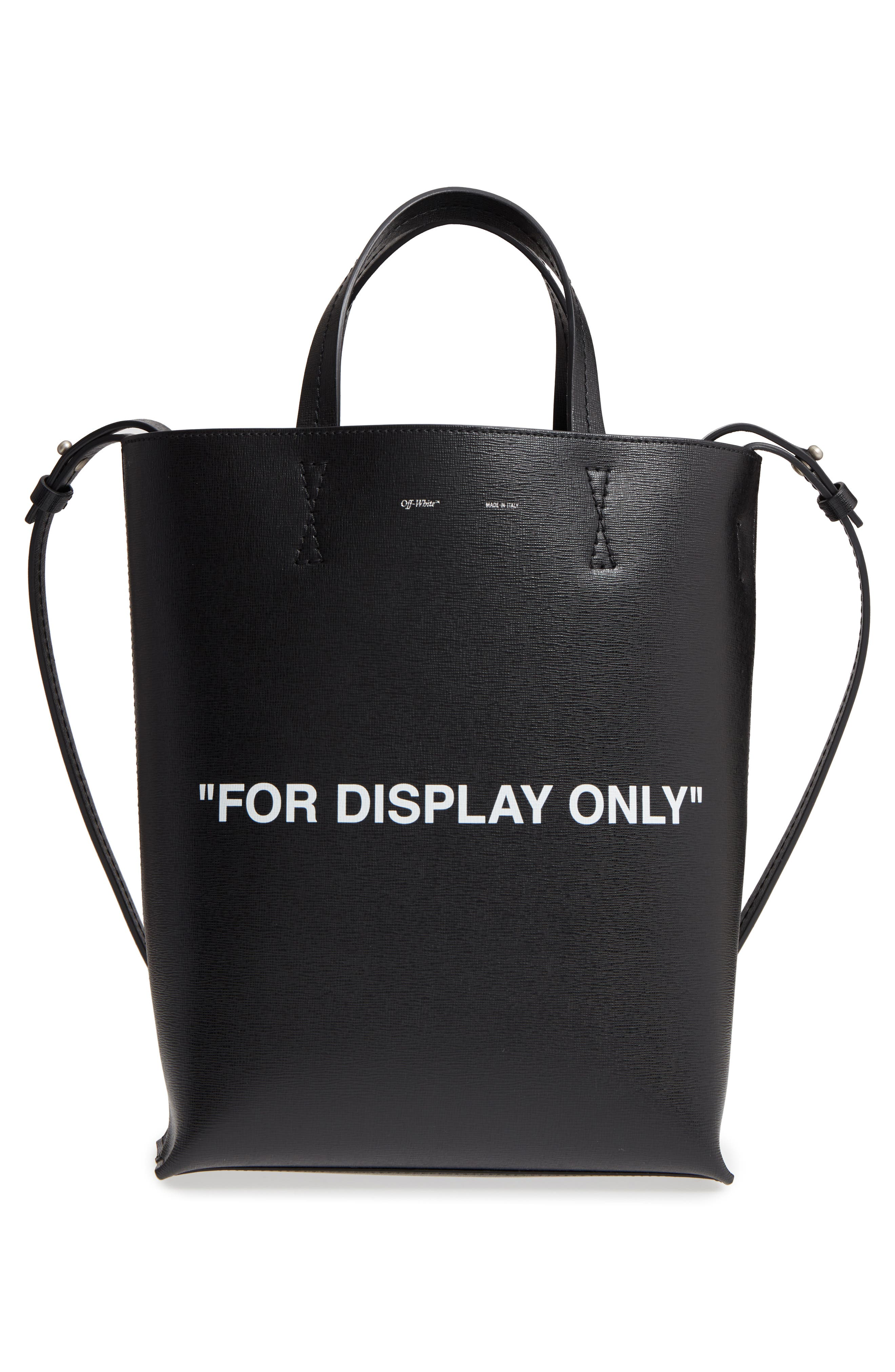 Alternate Image 3  - Off-White Virgil Was Not Here Leather Tote