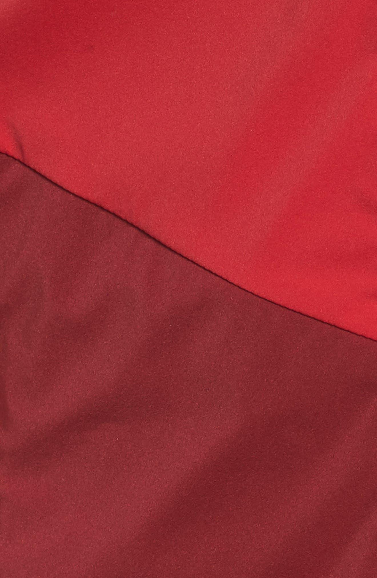 Dry Stadium Jacket,                             Alternate thumbnail 6, color,                             Habanero Red/ Coral