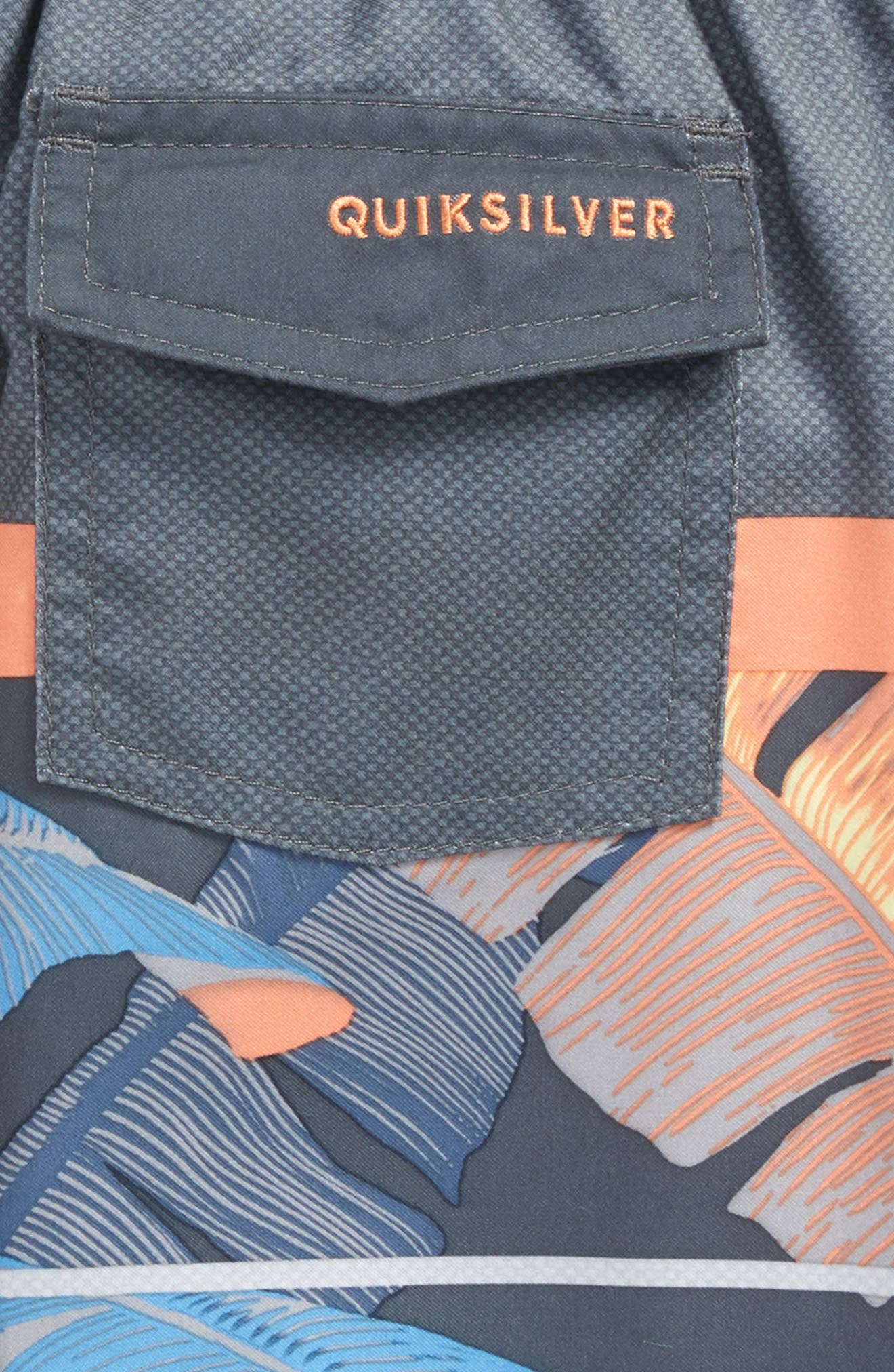 Alternate Image 3  - Quiksilver Slab Island Board Shorts (Toddler Boys & Little Boys)