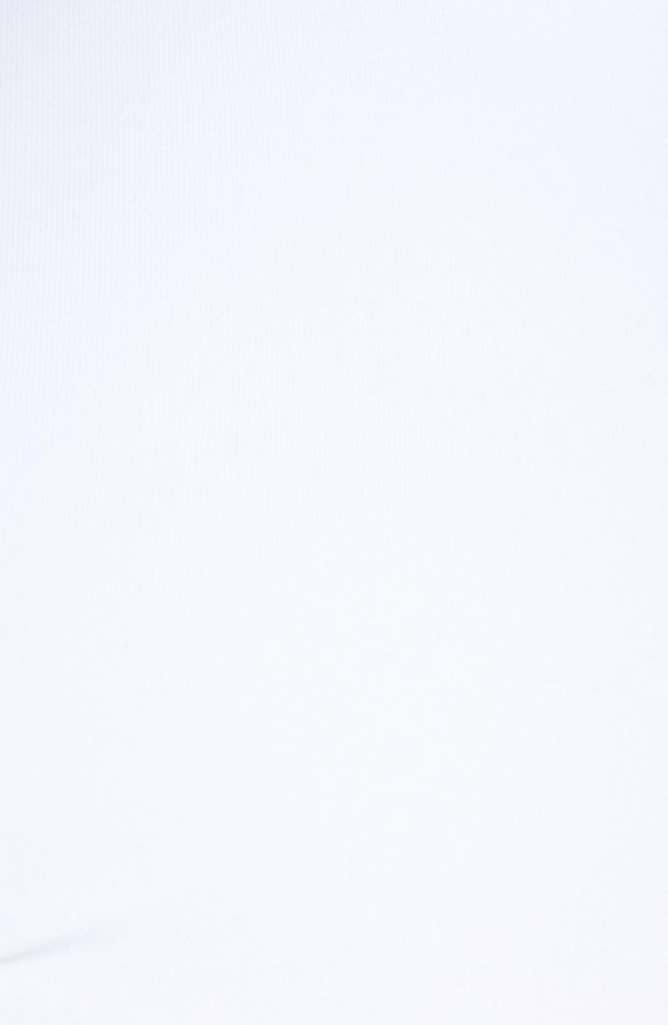 Pearl Twist Front Underwire Bikini Top,                             Alternate thumbnail 8, color,                             White