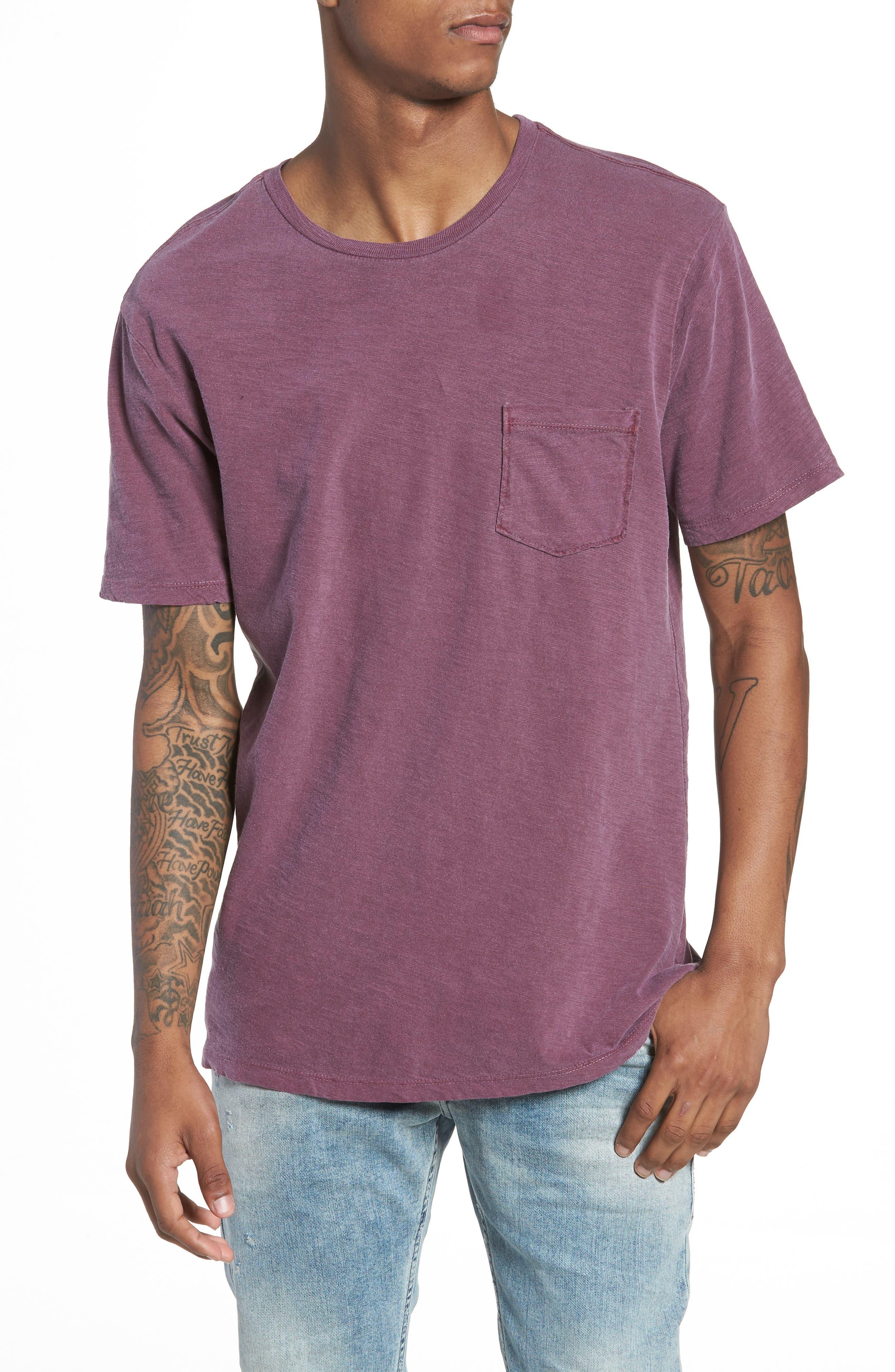 The Rail Garment Washed Pocket T-Shirt