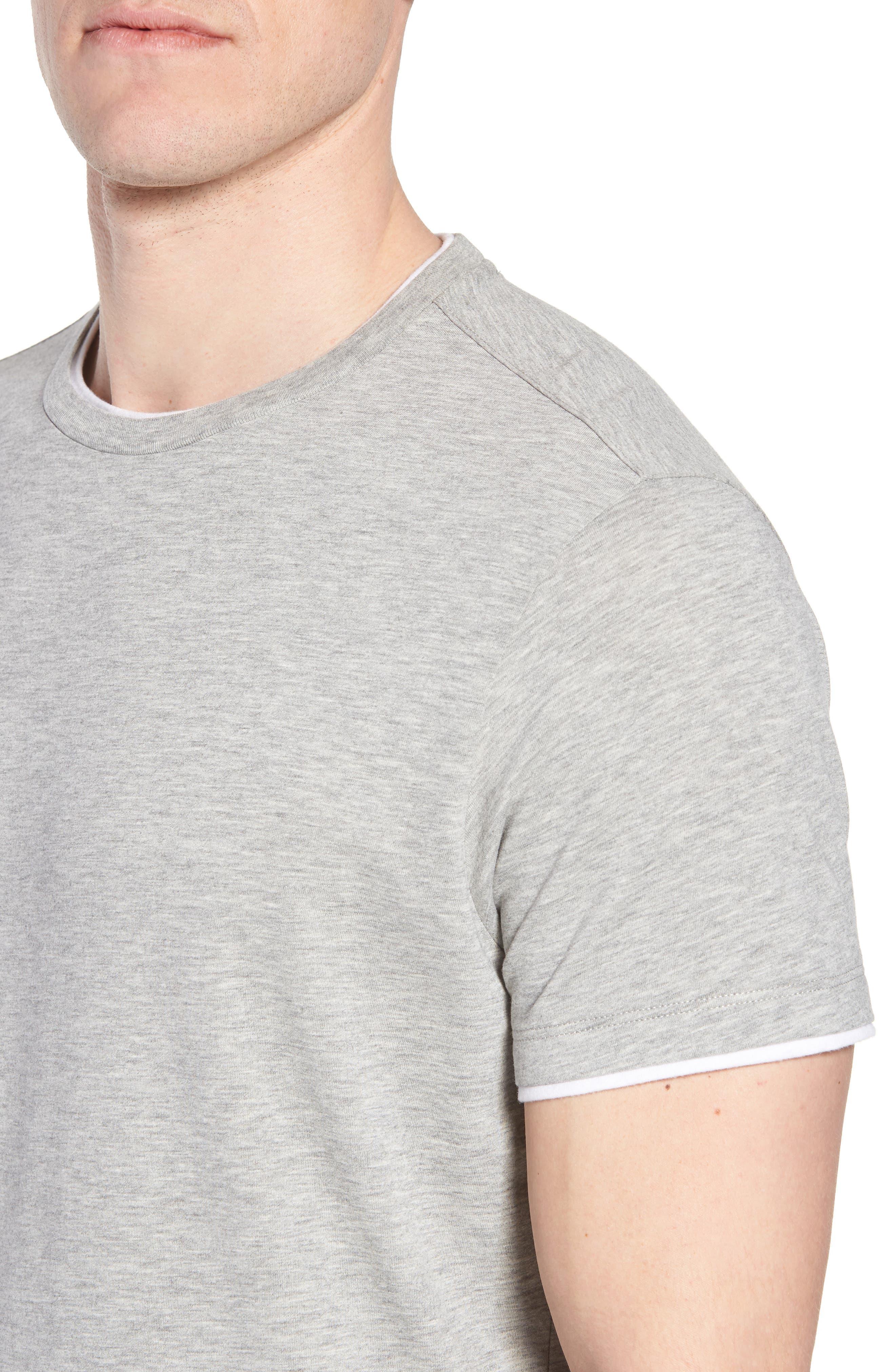 Halifax Crewneck T-Shirt,                             Alternate thumbnail 4, color,                             Light Grey