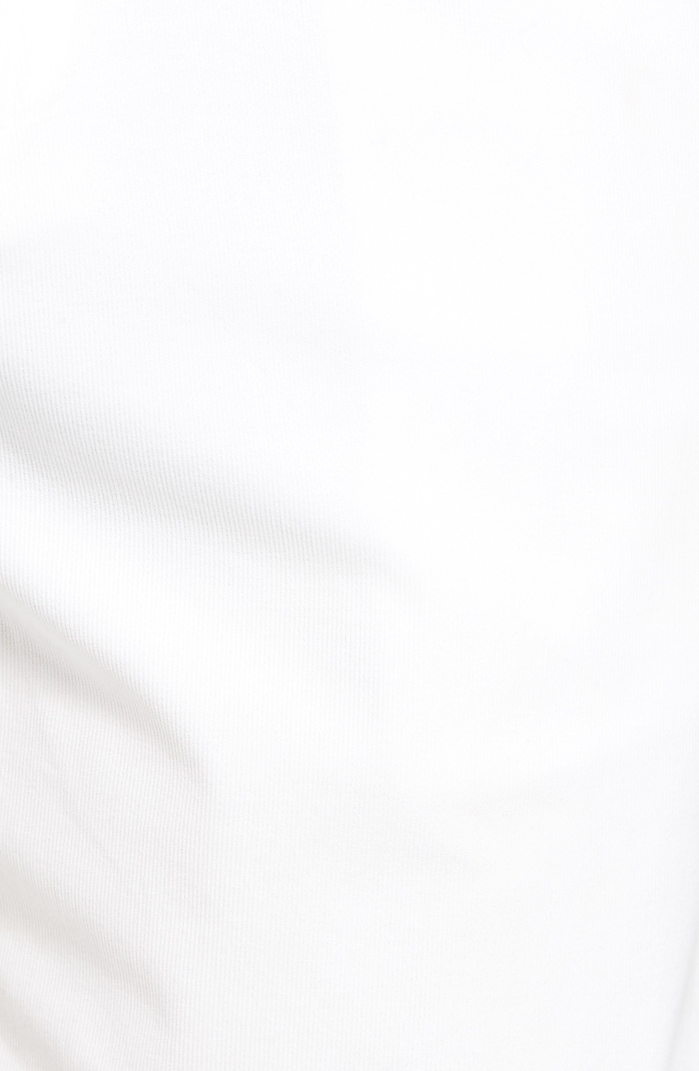 Drawstring Bedford Corduroy Shorts,                             Alternate thumbnail 5, color,                             White