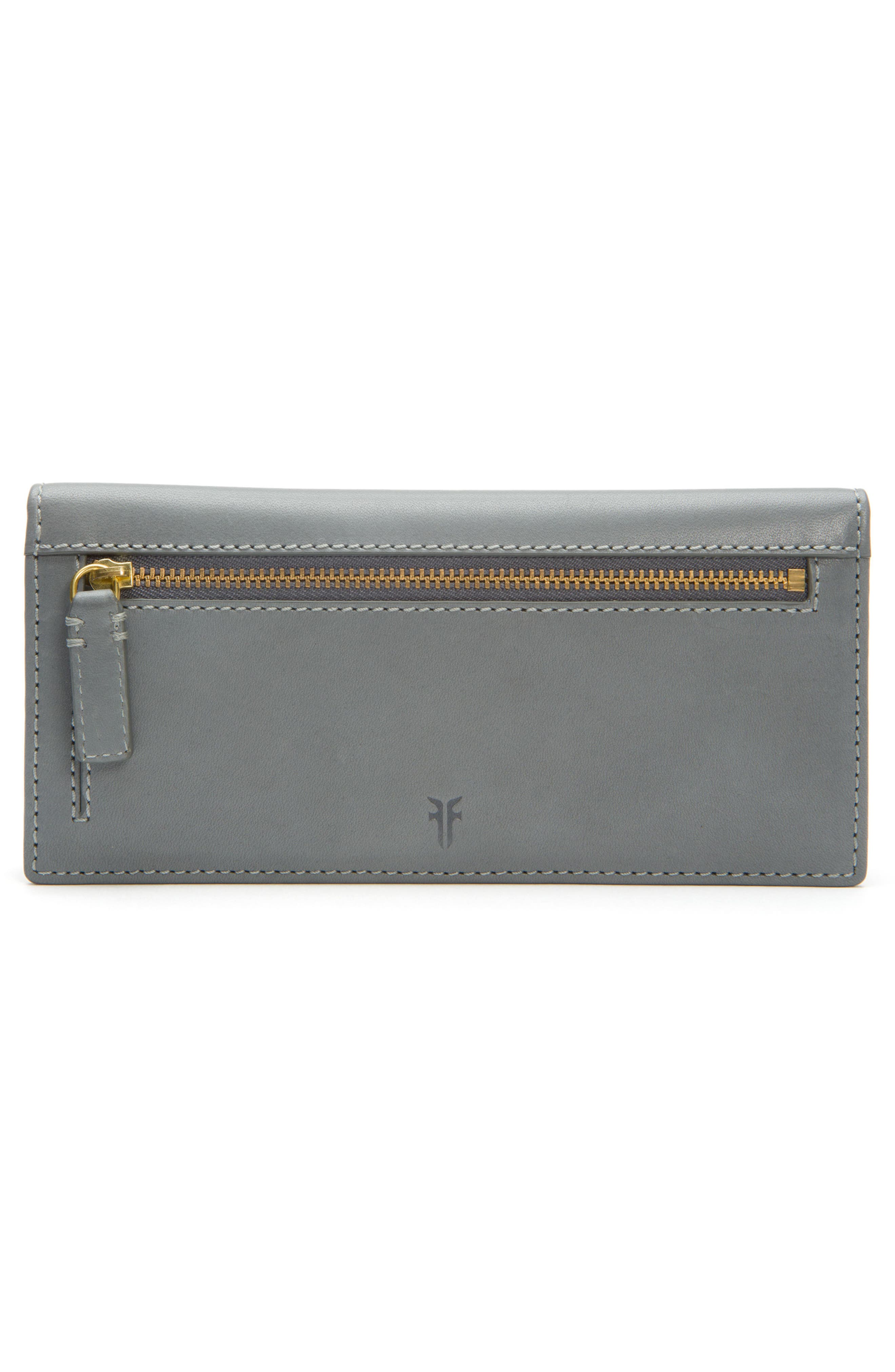 Alternate Image 4  - Frye Carson Perforated Logo Slim Leather Wallet