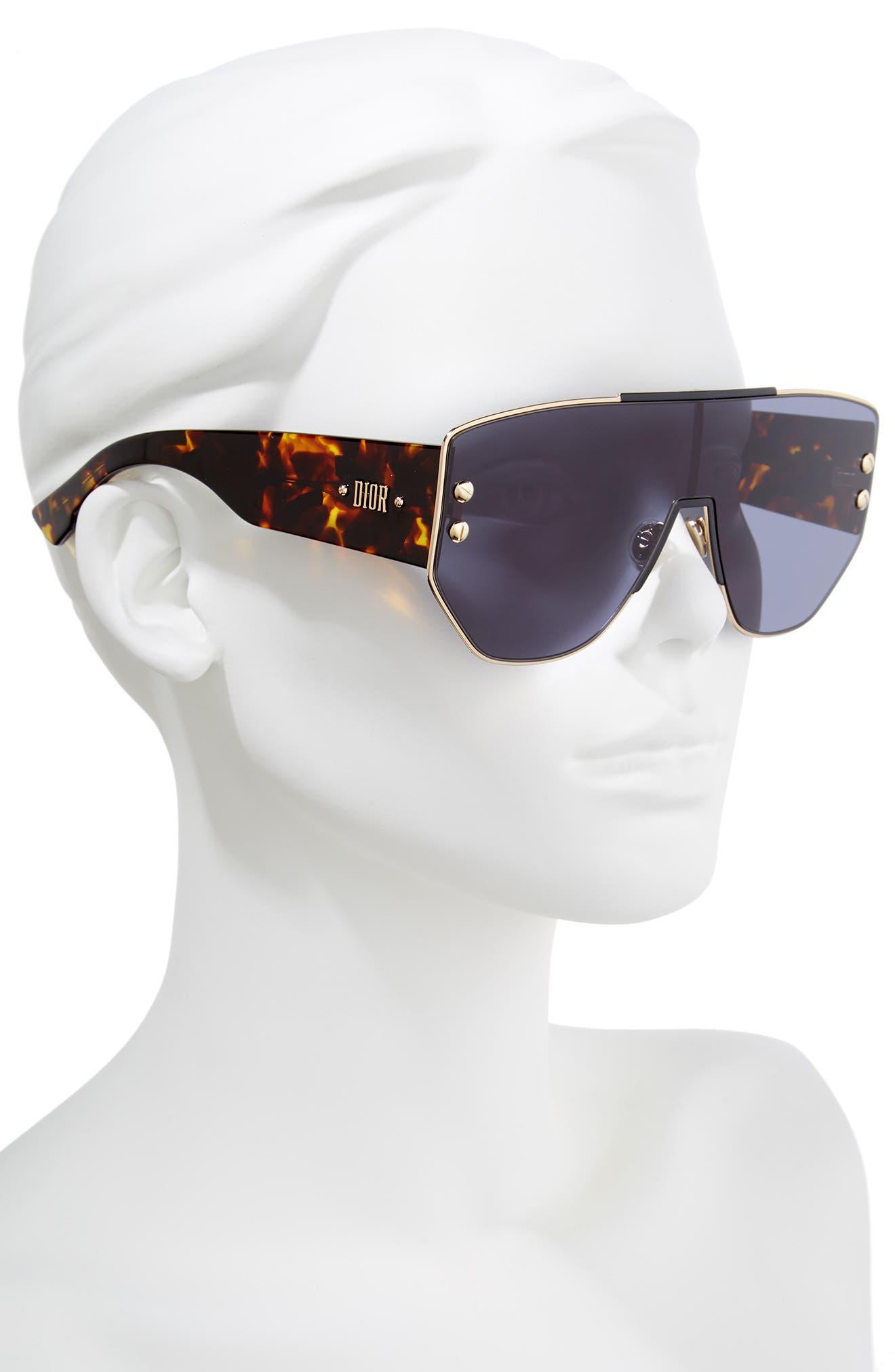 Alternate Image 2  - Dior 72mm Rimless Shield Sunglasses