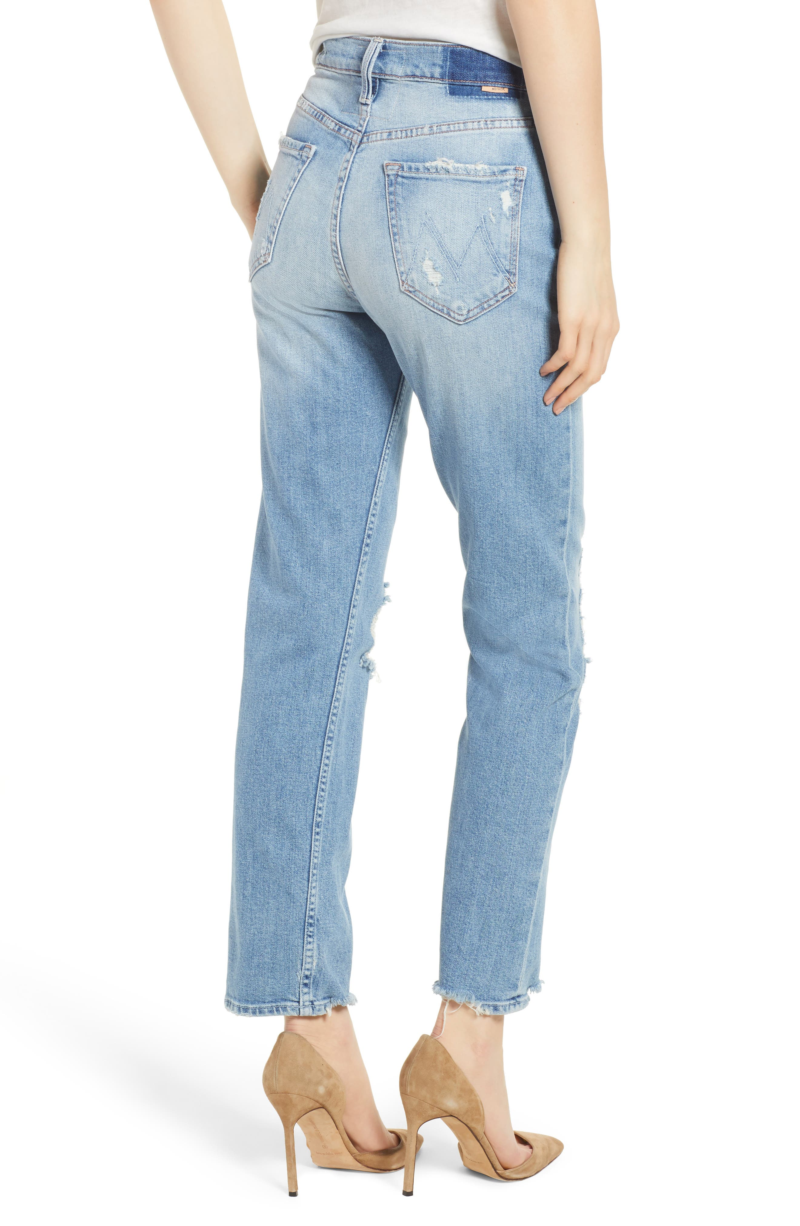 The Tomcat Ankle Straight Leg Jeans,                             Alternate thumbnail 2, color,                             Quite Contrary