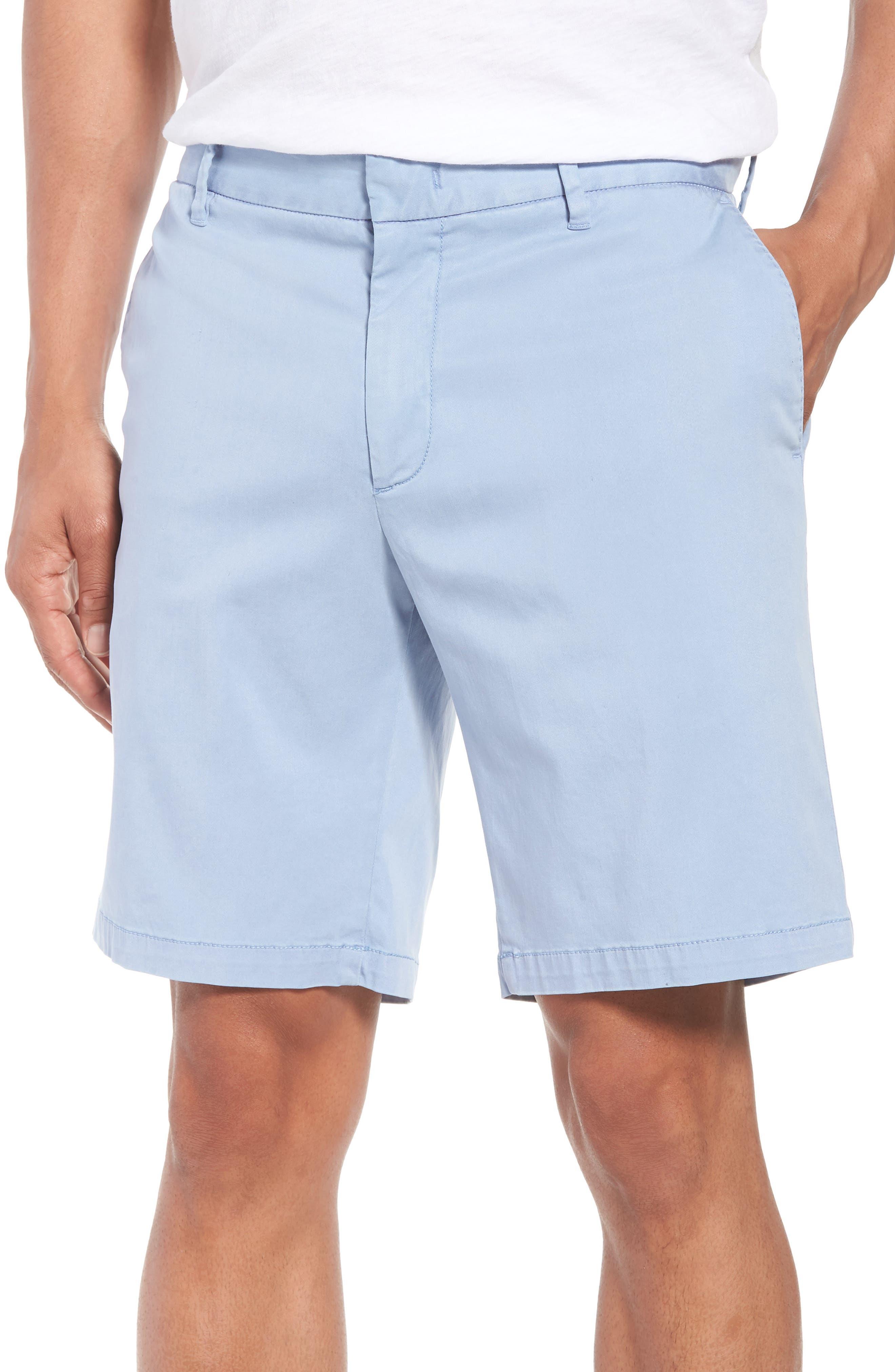 ZACHARY PRELL Catalpa Chino Shorts in Azure