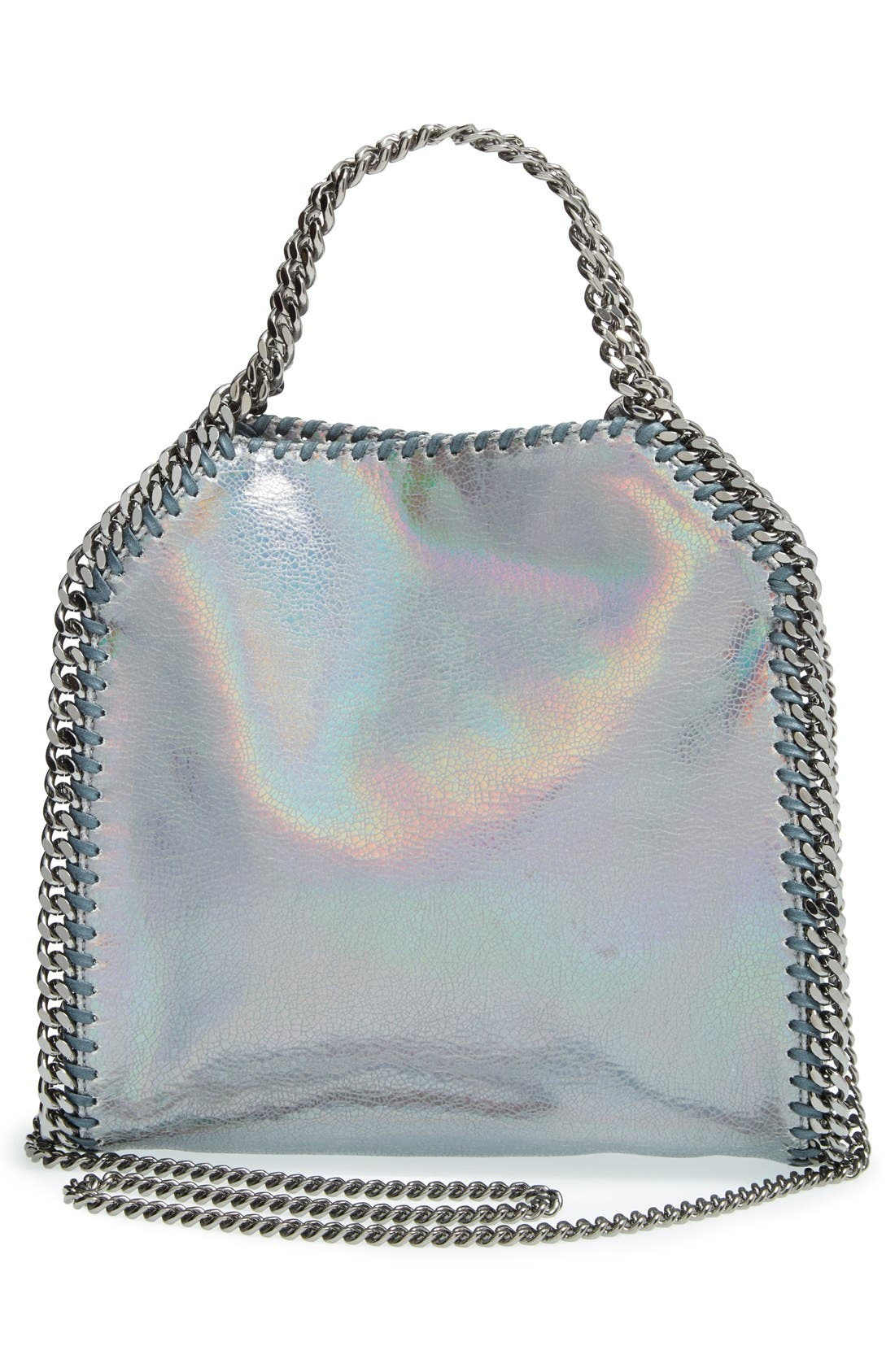 Alternate Image 3  - Stella McCartney 'Mini Hologram Falaballa' Faux Leather Tote