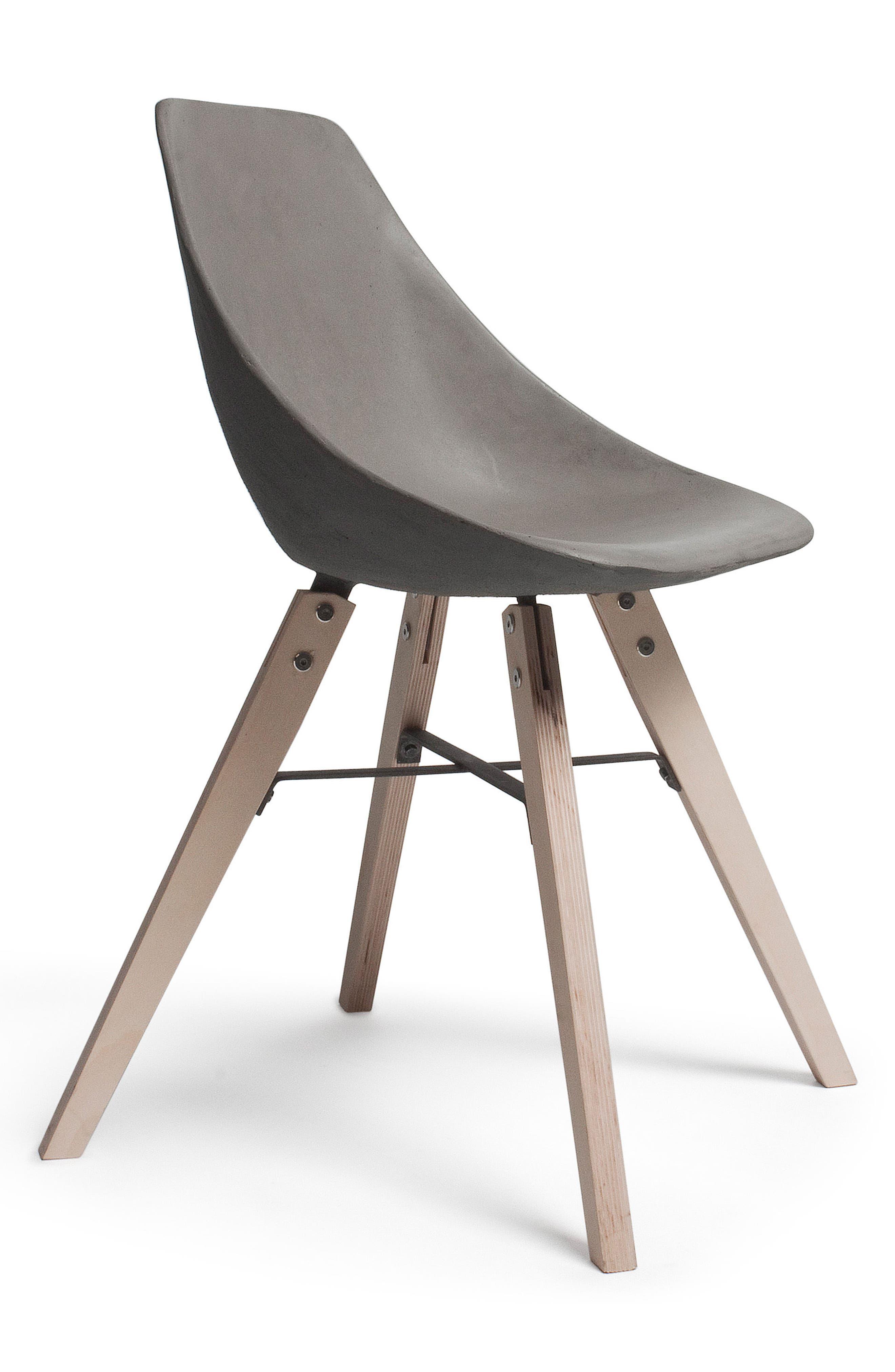 Lyon Béton Hauteville Chair,                             Alternate thumbnail 2, color,                             Cement