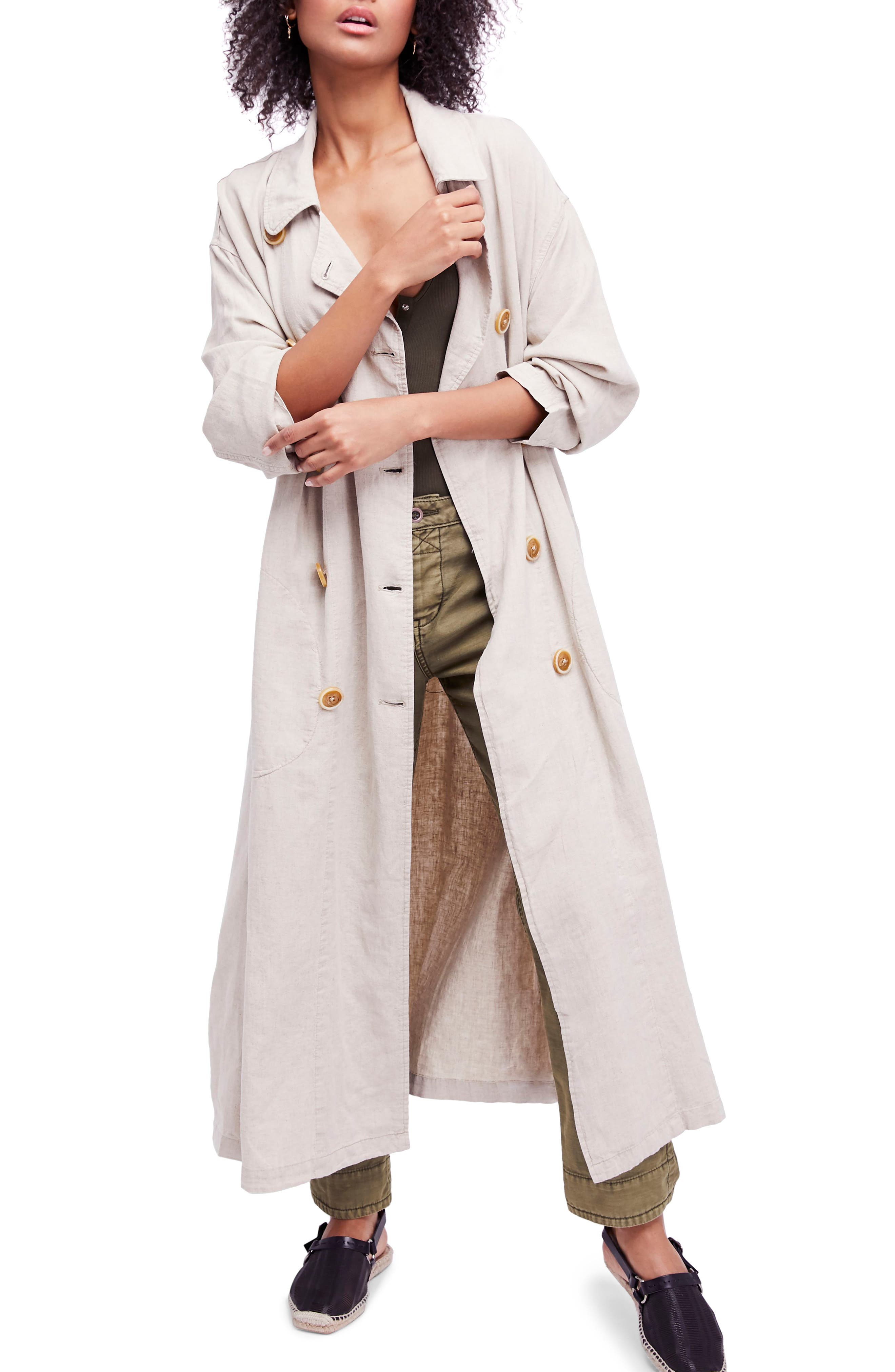 Sweet Melody Duster Jacket,                         Main,                         color, Sand