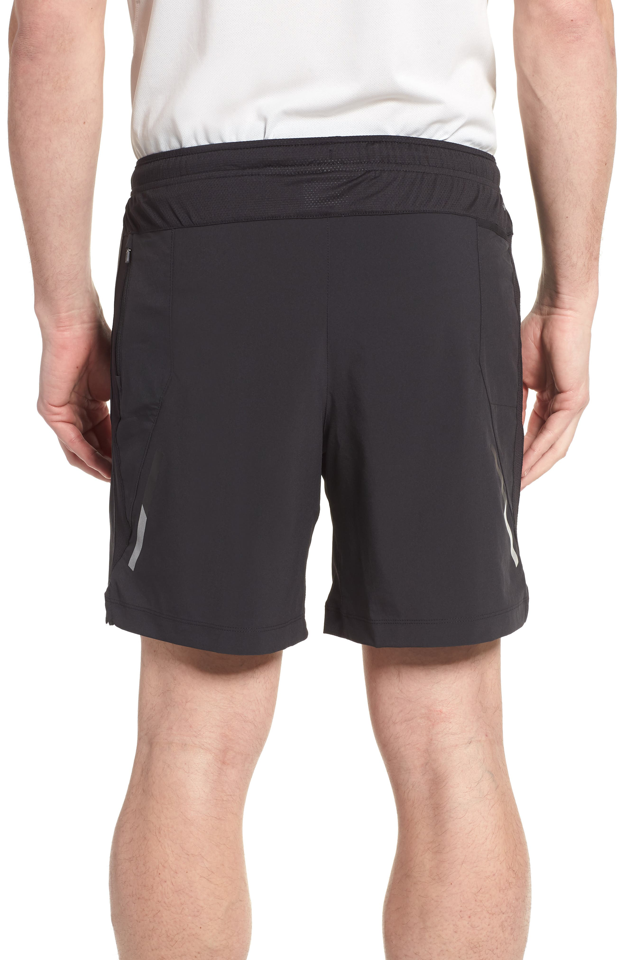 Impact Shorts,                             Alternate thumbnail 2, color,                             Black