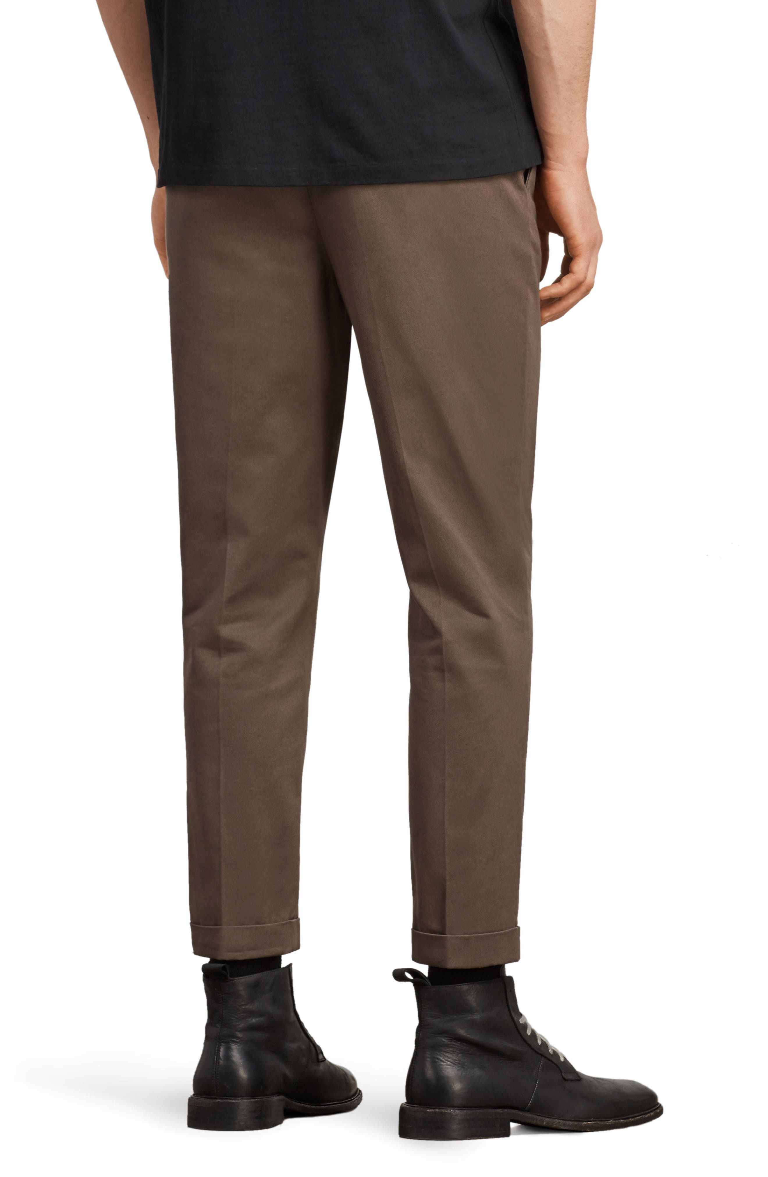 Salco Slim Fit Chino Pants,                             Alternate thumbnail 2, color,                             Khaki Green
