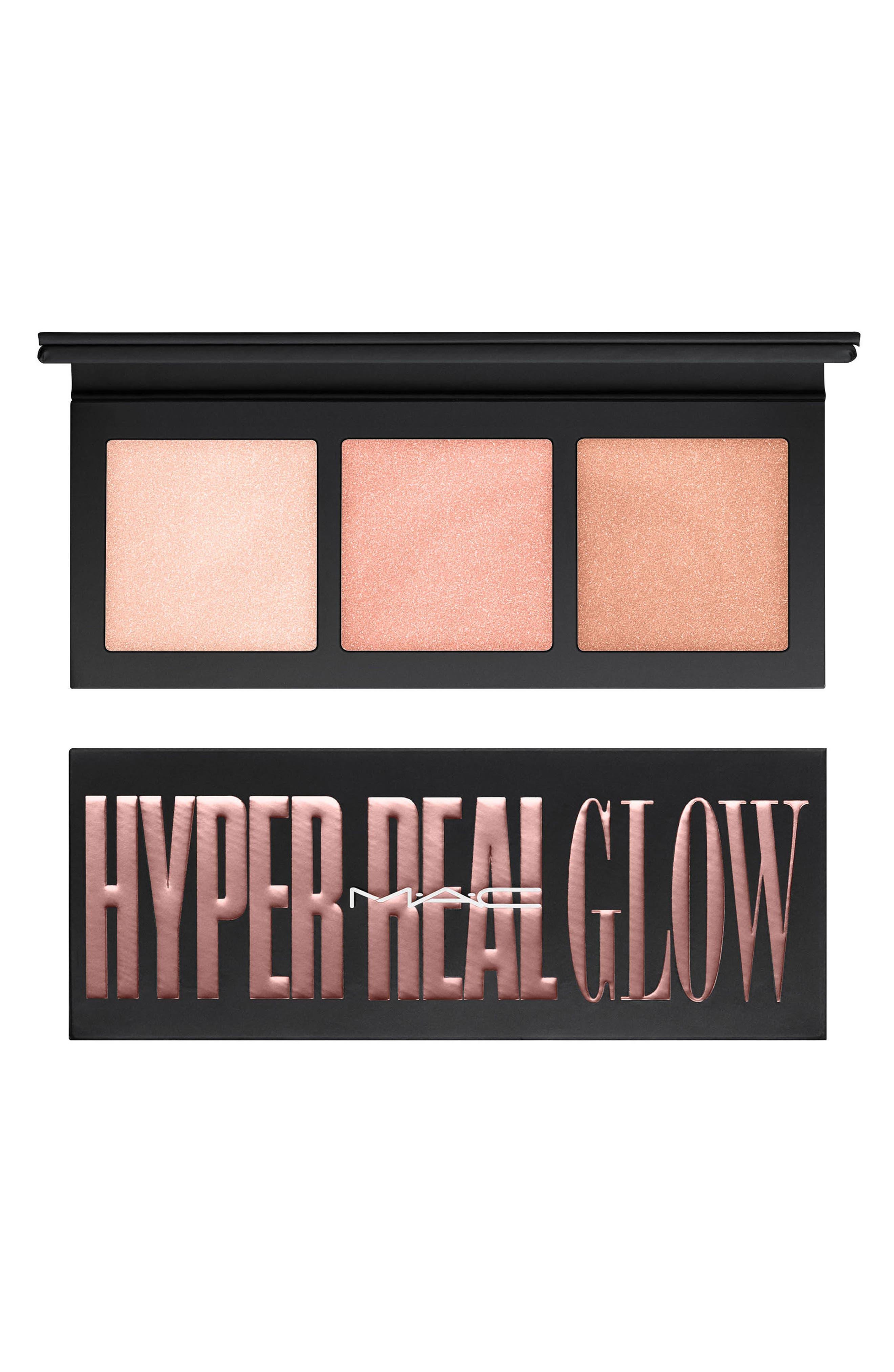 MAC Hyper Real Glow Palette,                         Main,                         color, Flash Awe