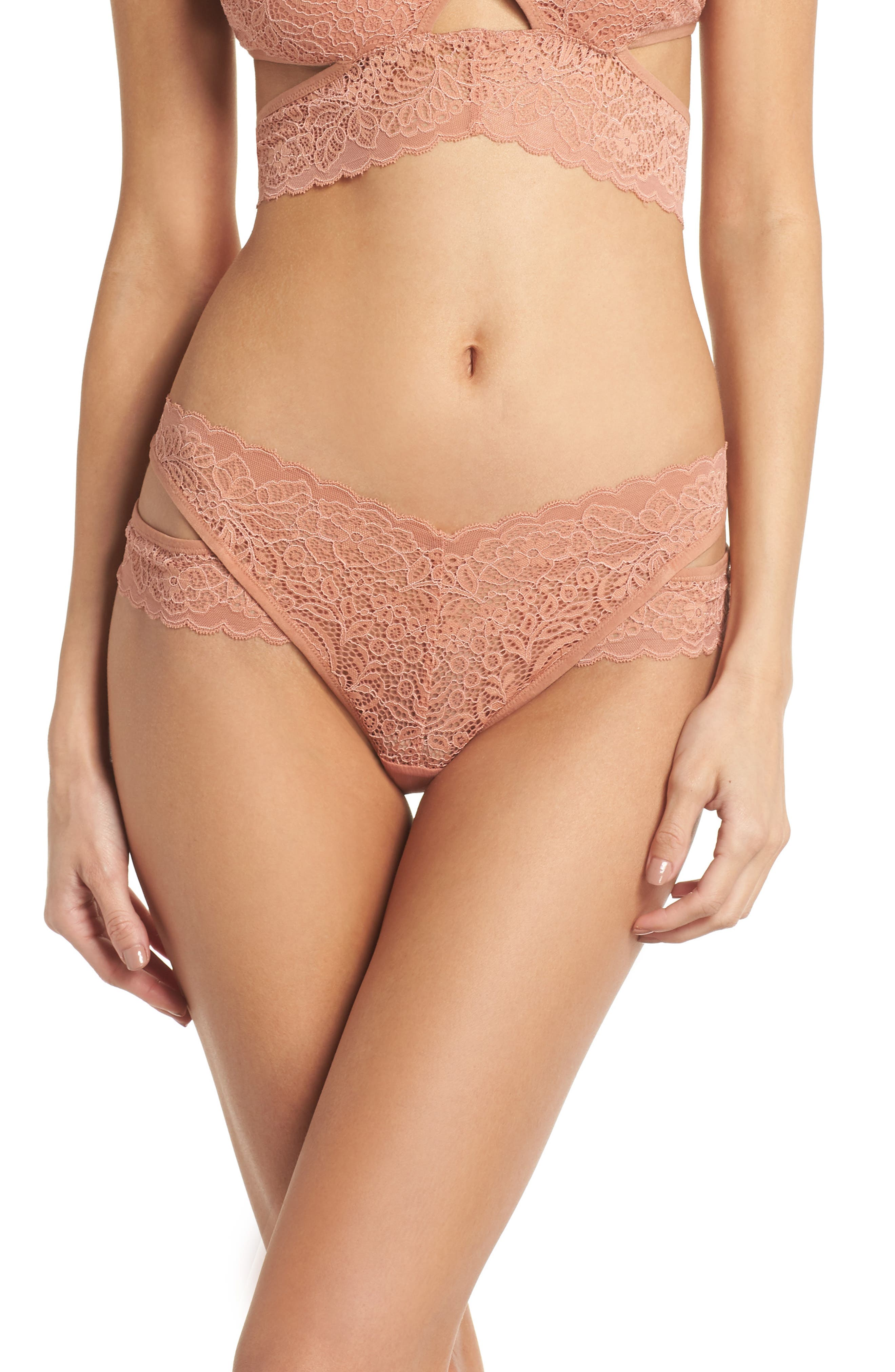 Thisle & Spire Marcy Briefs,                             Main thumbnail 1, color,                             Terracotta