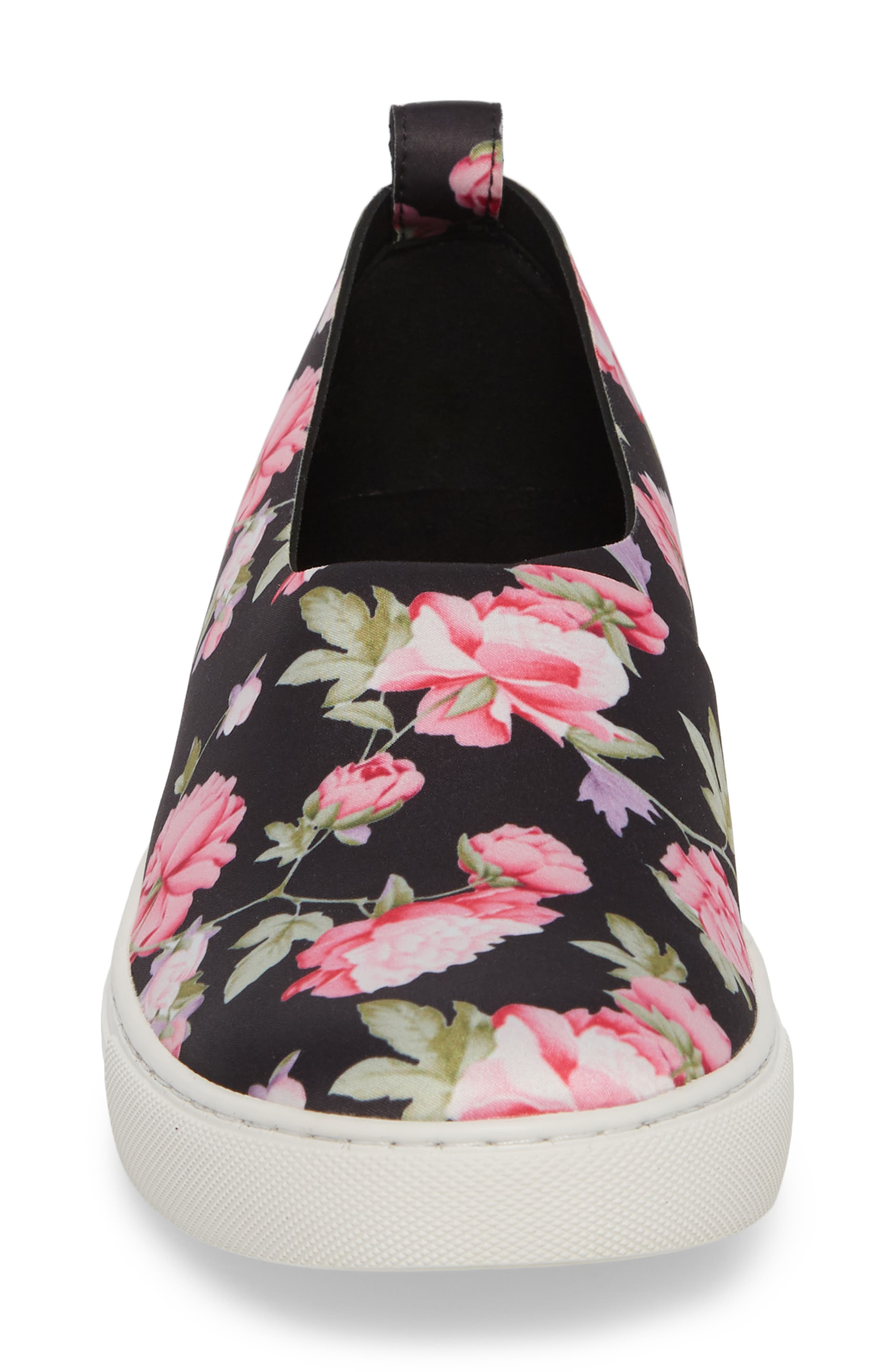 Kathy Slip-On Sneaker,                             Alternate thumbnail 4, color,                             Pink Multi