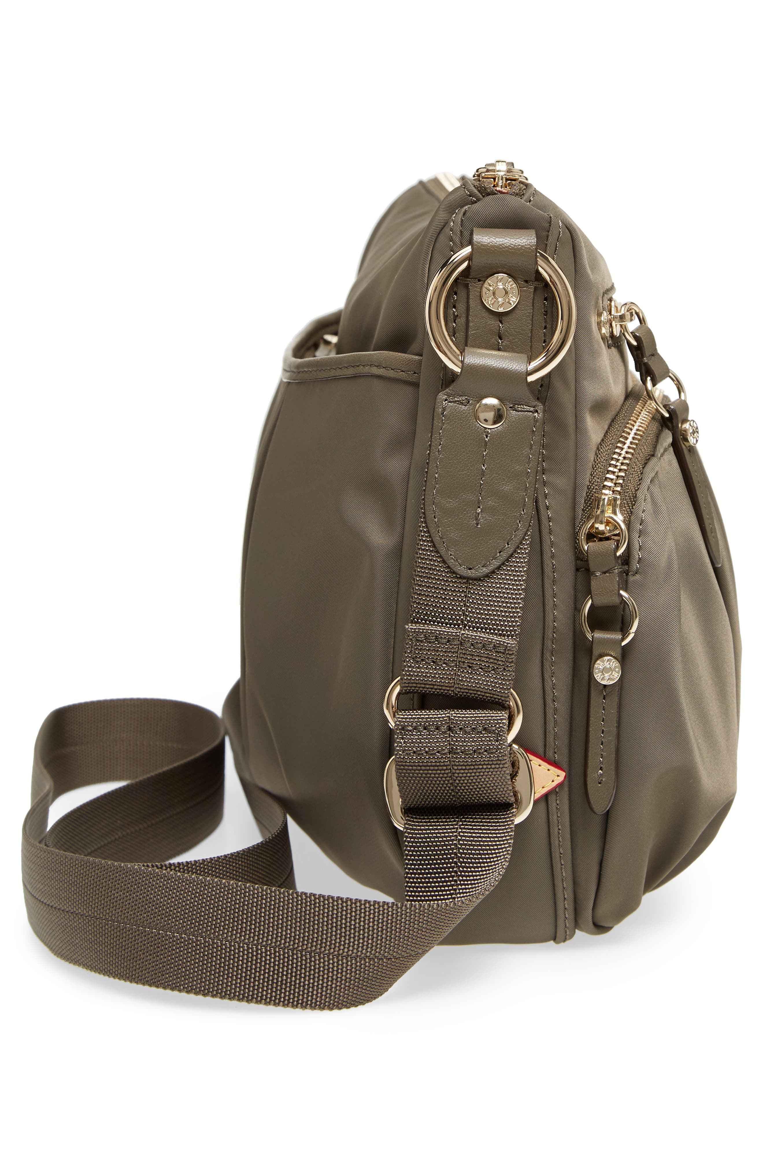 Paige Crossbody Bag,                             Alternate thumbnail 5, color,                             Clay