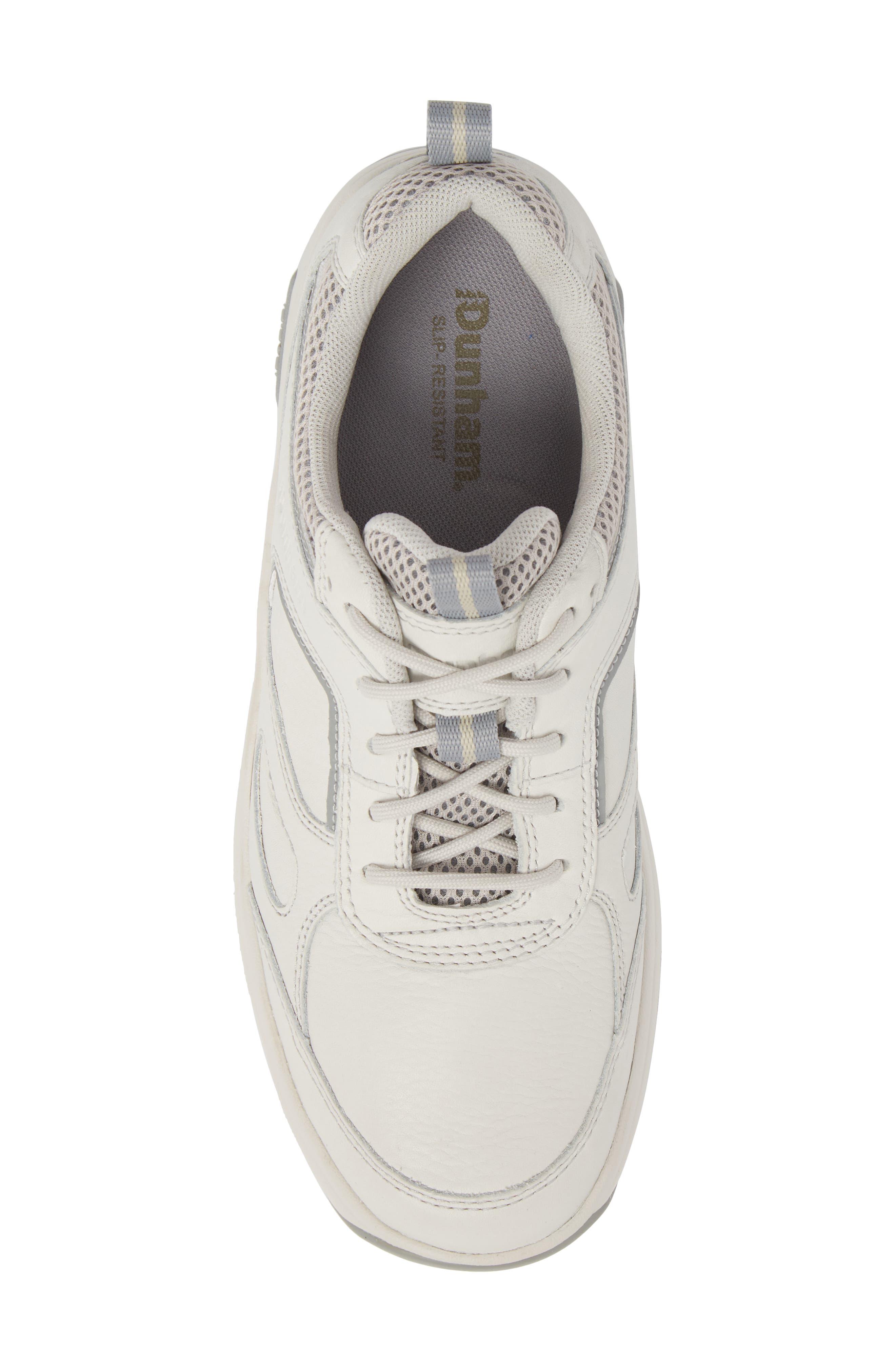 8000 Uball Sneaker,                             Alternate thumbnail 4, color,                             Off White Leather