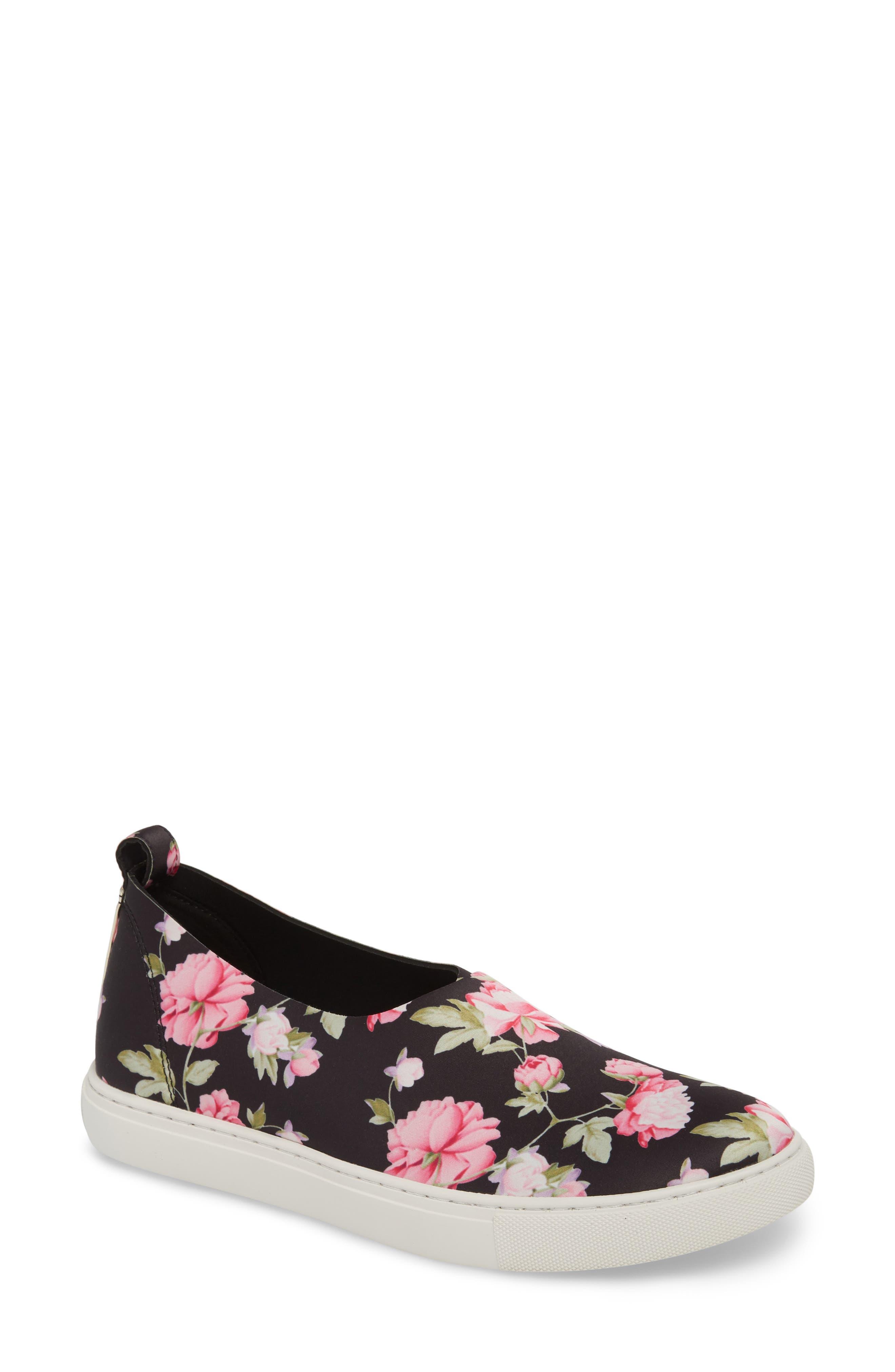 Kathy Slip-On Sneaker,                             Main thumbnail 1, color,                             Pink Multi