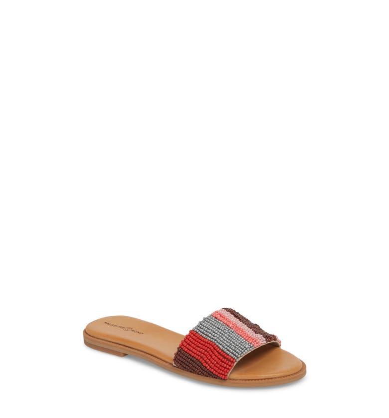 Mere Flat Slide Sandal,                         Main,                         color, Pink Multi