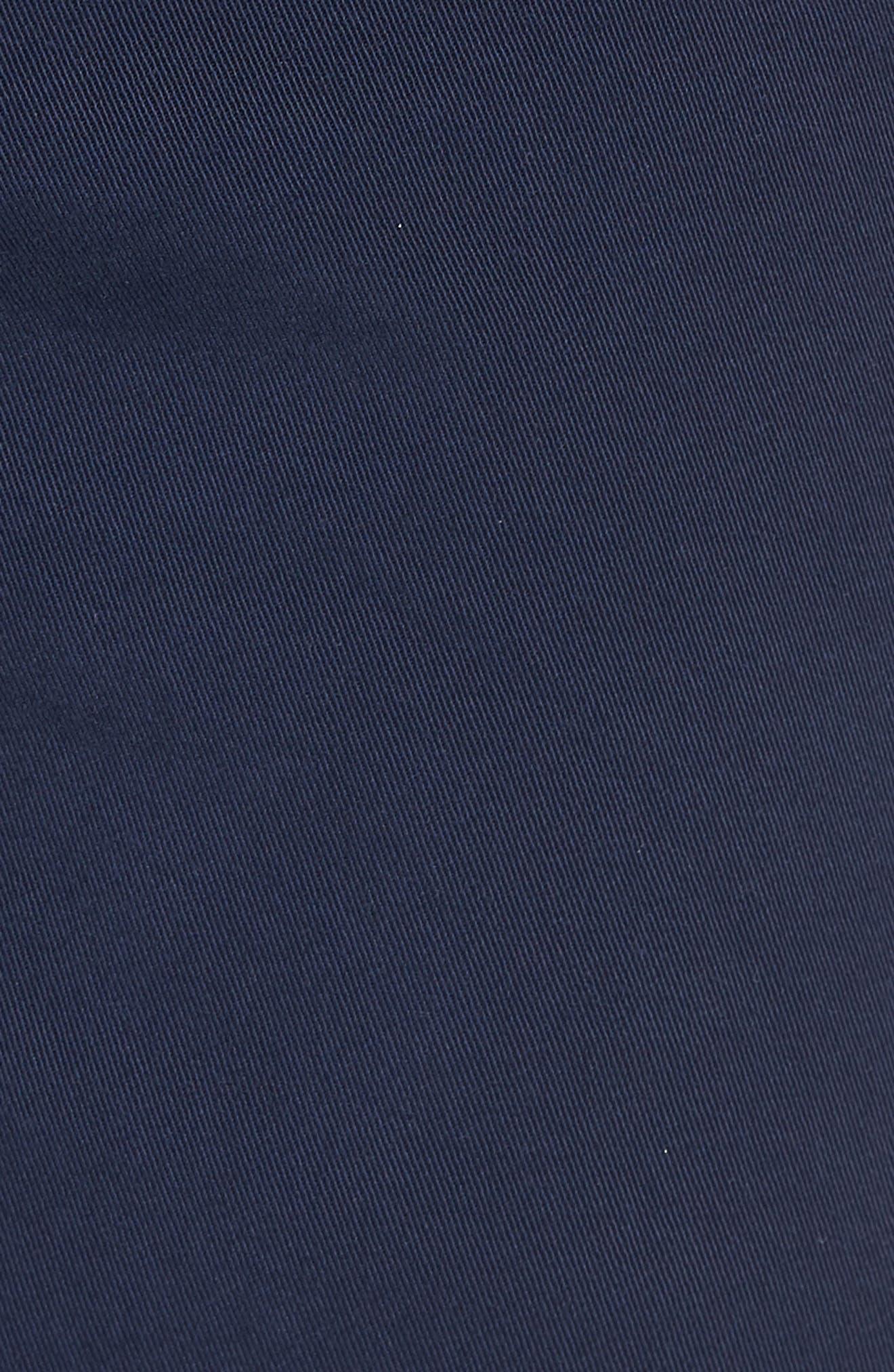 Hudson Clint Chino Shorts,                             Alternate thumbnail 5, color,                             Navy