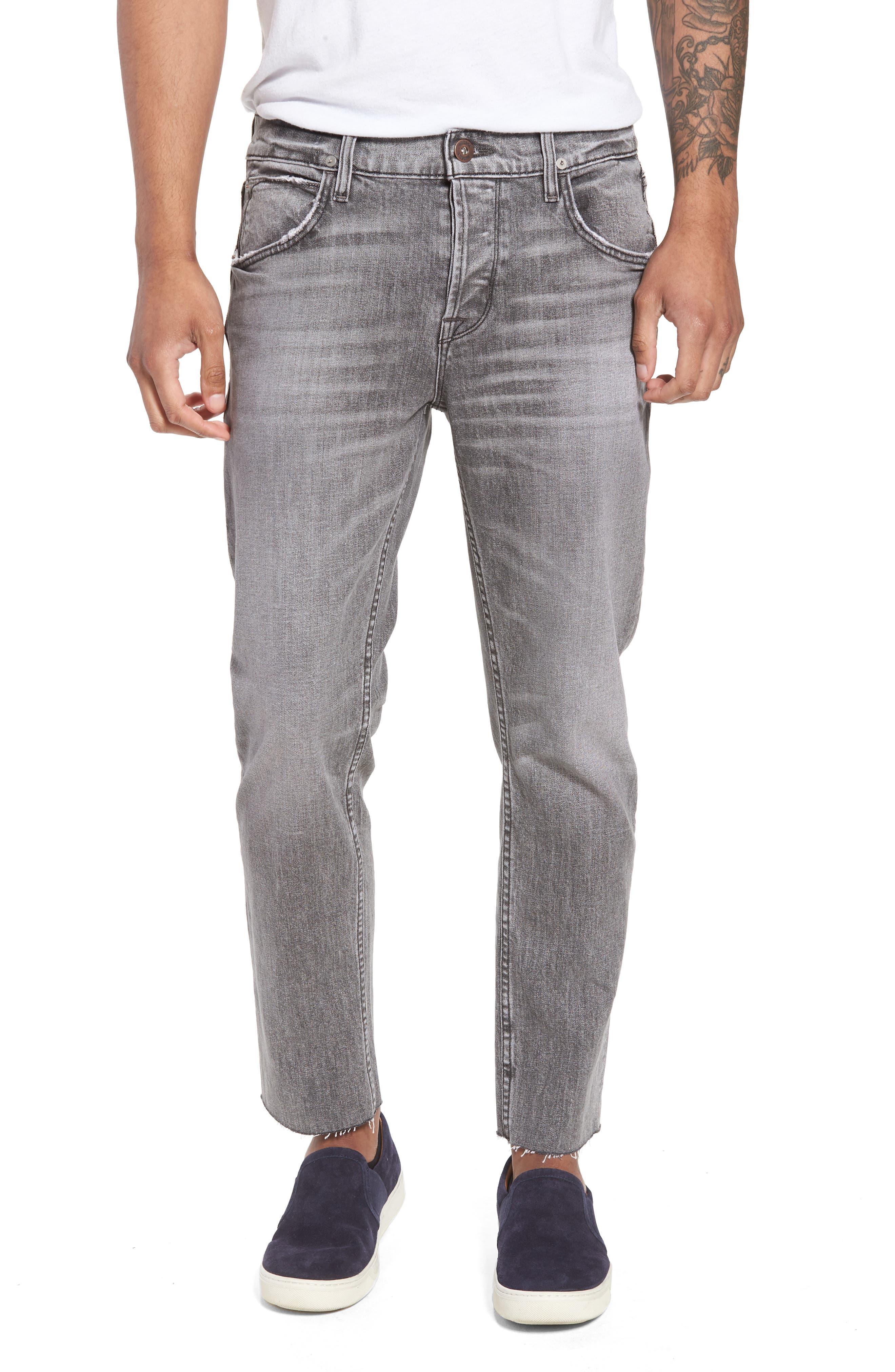 Hudson Jeans Blake Slim Fit Jeans (Chrome)