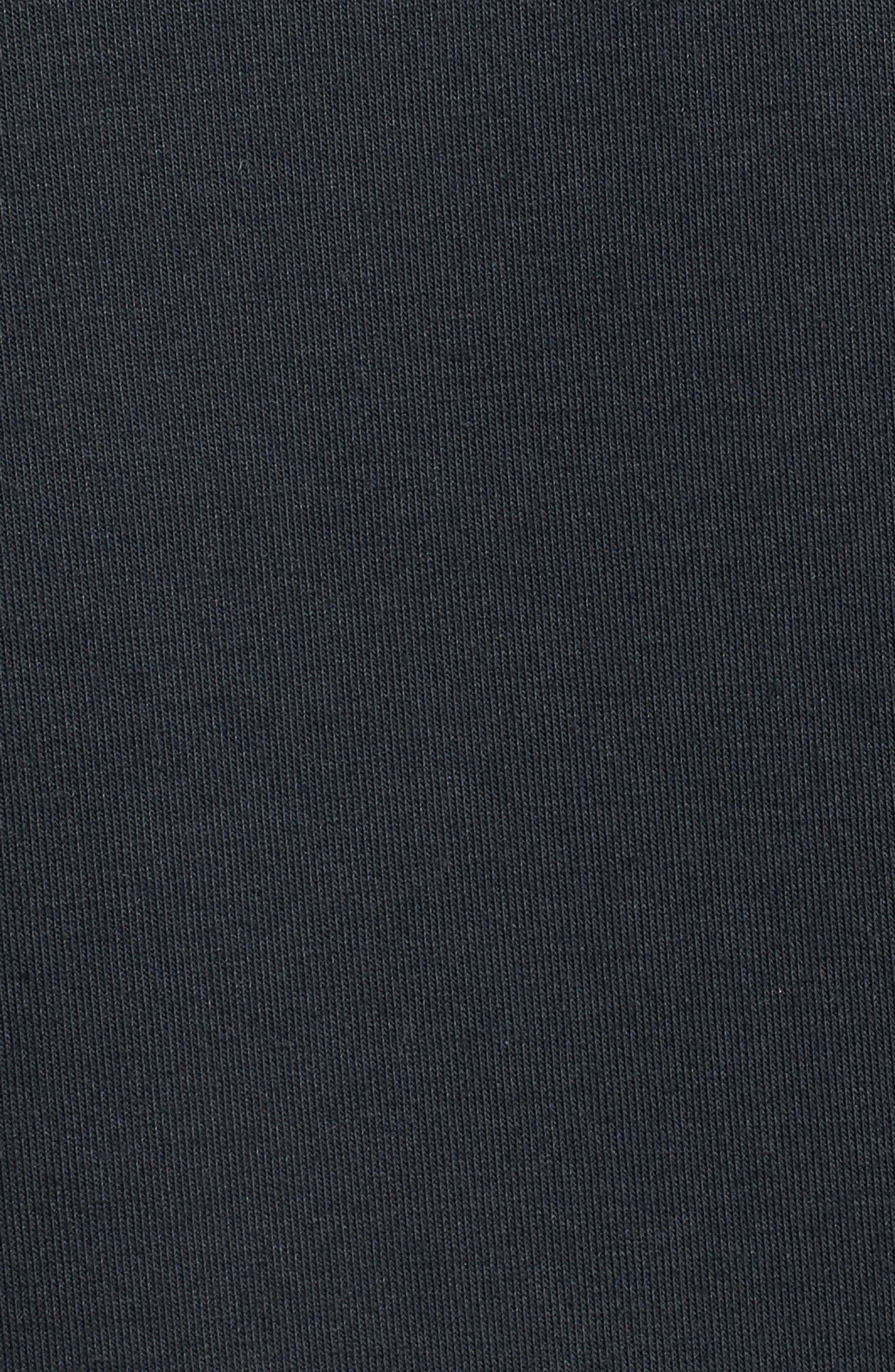 Perpetual ColdGear<sup>®</sup> Reactor Sleeveless Hoodie,                             Alternate thumbnail 5, color,                             Black/ Gray/ Metallic Gold