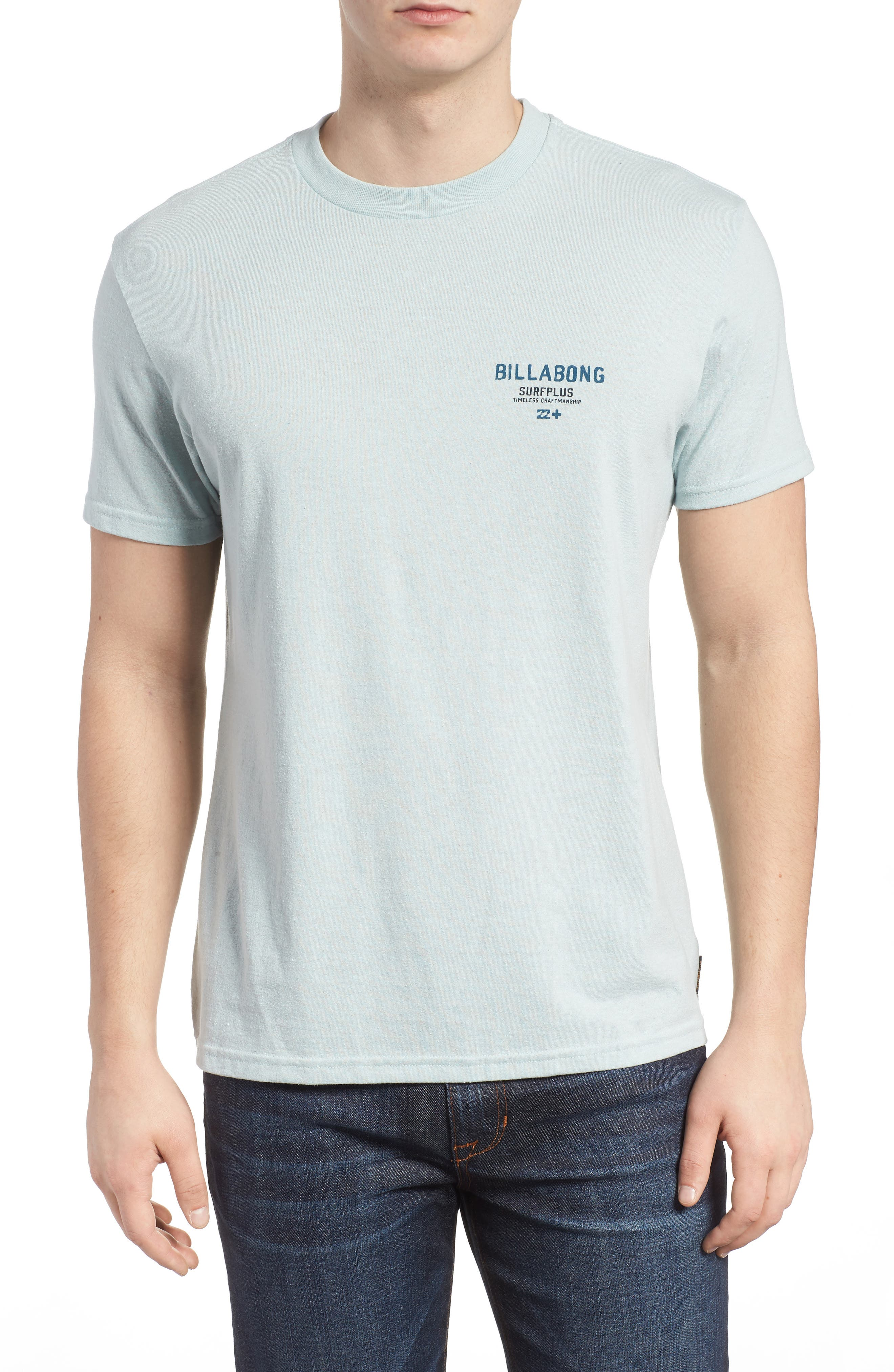 Dawn Patrol Graphic T-Shirt,                         Main,                         color, Light Aqua