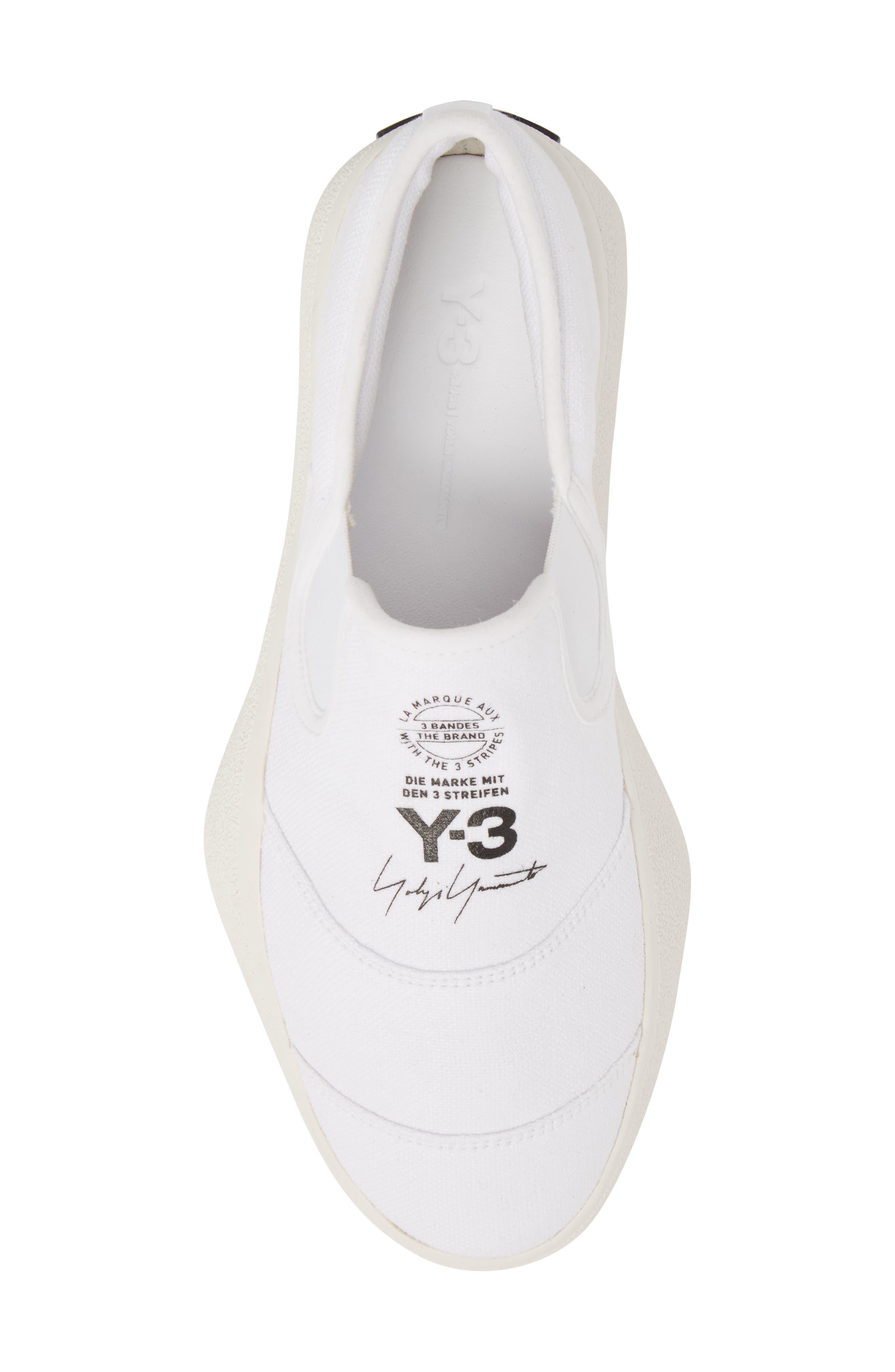 Tangutsu Slip-On Sneaker,                             Alternate thumbnail 5, color,                             White / Black / Core White