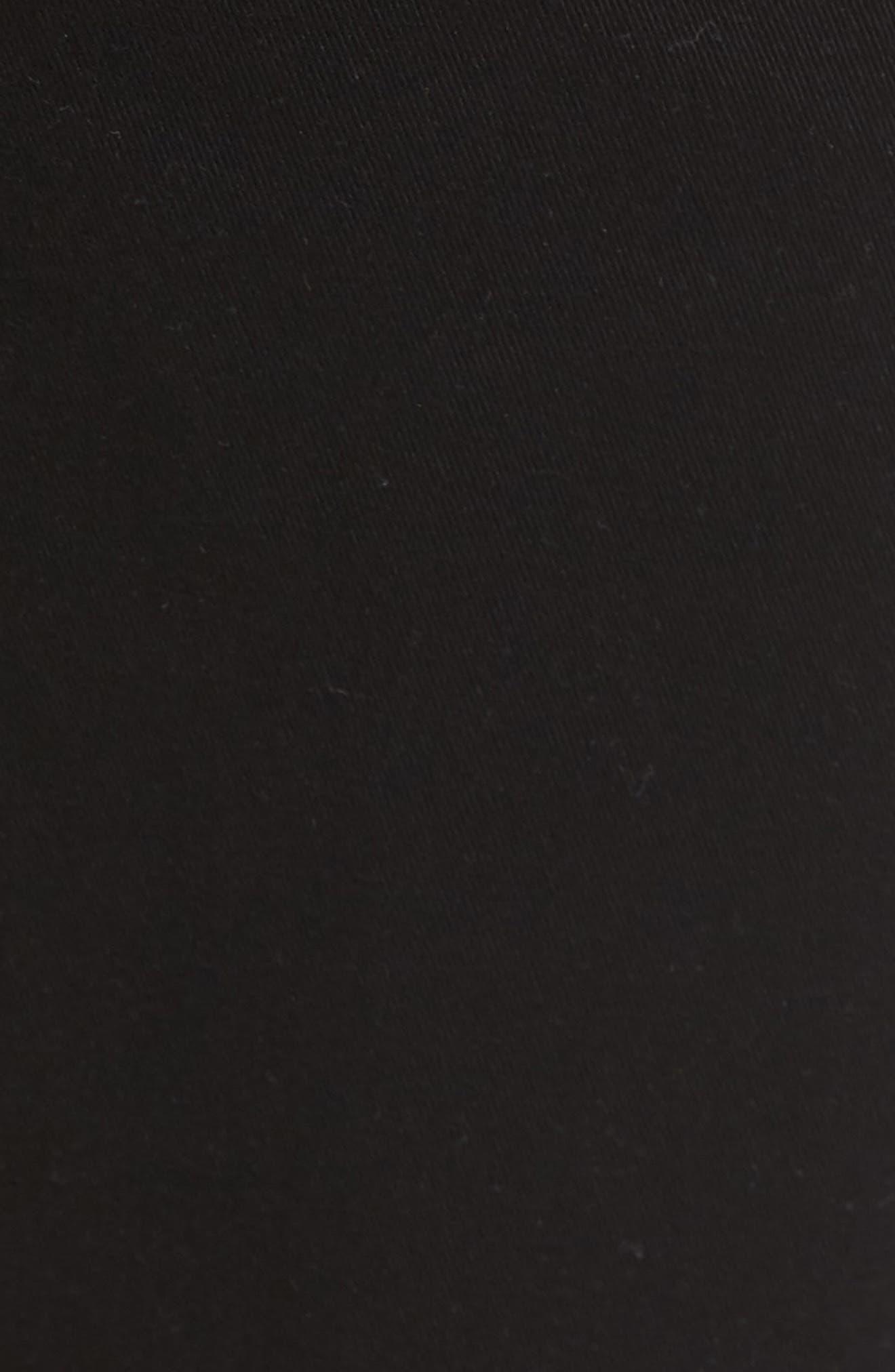 Byron Slim Straight Leg Jeans,                             Alternate thumbnail 5, color,                             Blackened