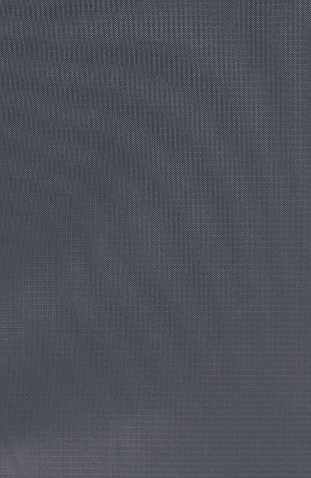 Windrunner Wind & Water Repellent Hooded Jacket,                             Alternate thumbnail 5, color,                             Black/ Summit White/ Dark Grey