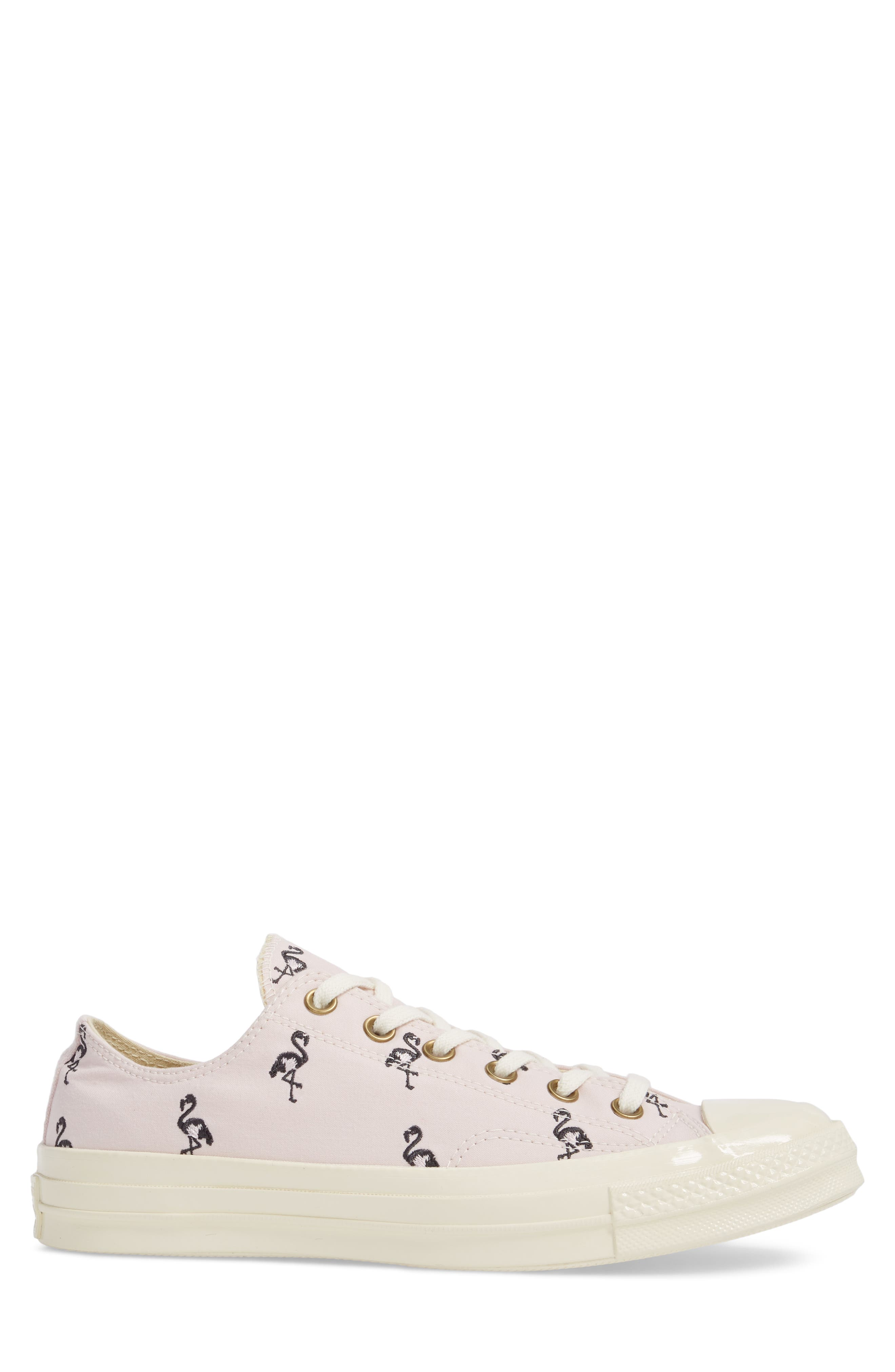 Chuck Taylor<sup>®</sup> All Star<sup>®</sup> 70 Flamingos Low Top Sneaker,                             Alternate thumbnail 3, color,                             Barely Rose