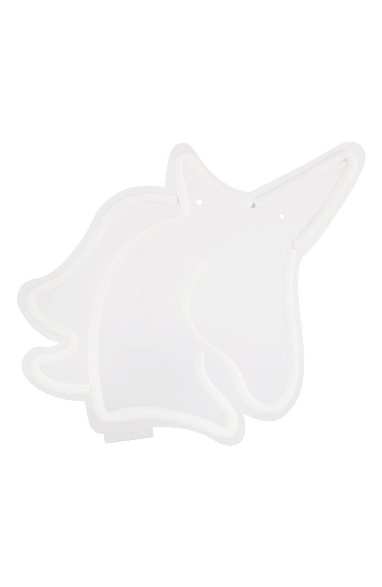 Alternate Image 3  - Sunnylife Small Unicorn Neon LED Wall Light (Girls)