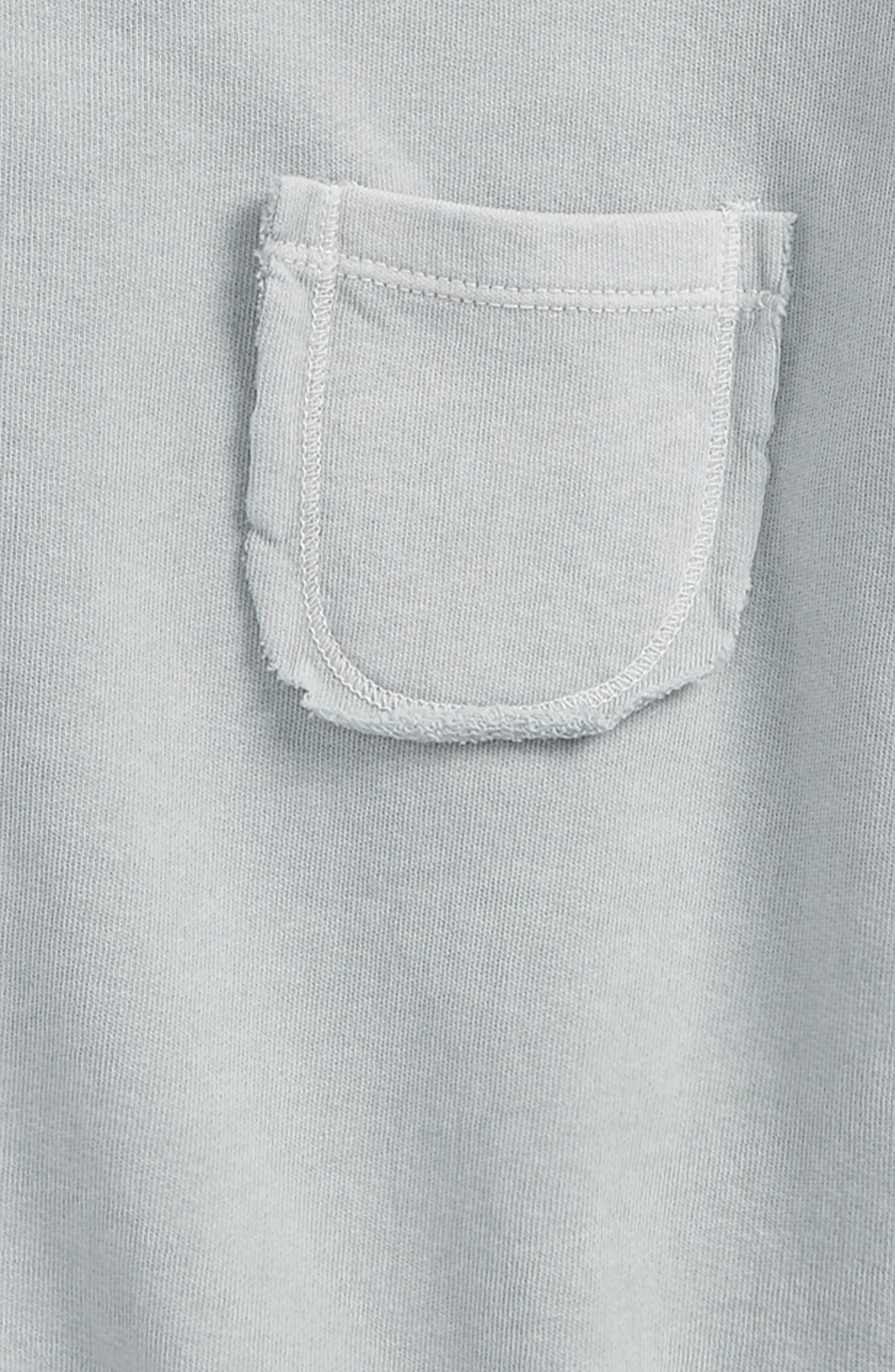 Pocket Sweatshirt,                             Alternate thumbnail 2, color,                             Blue Fog Wash