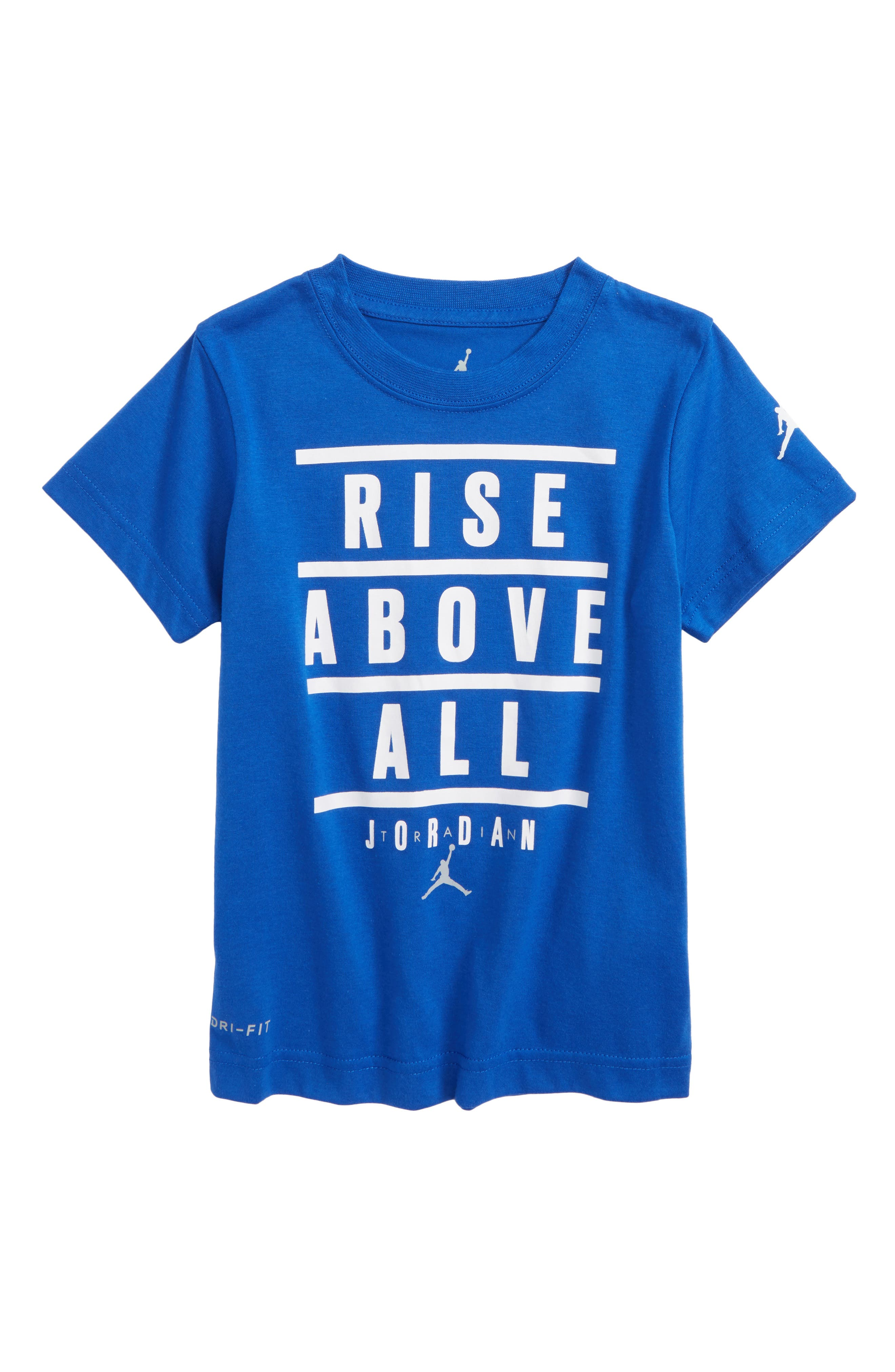 Jordan Motivational Dri-FIT T-Shirt,                             Main thumbnail 1, color,                             Hyper Royal