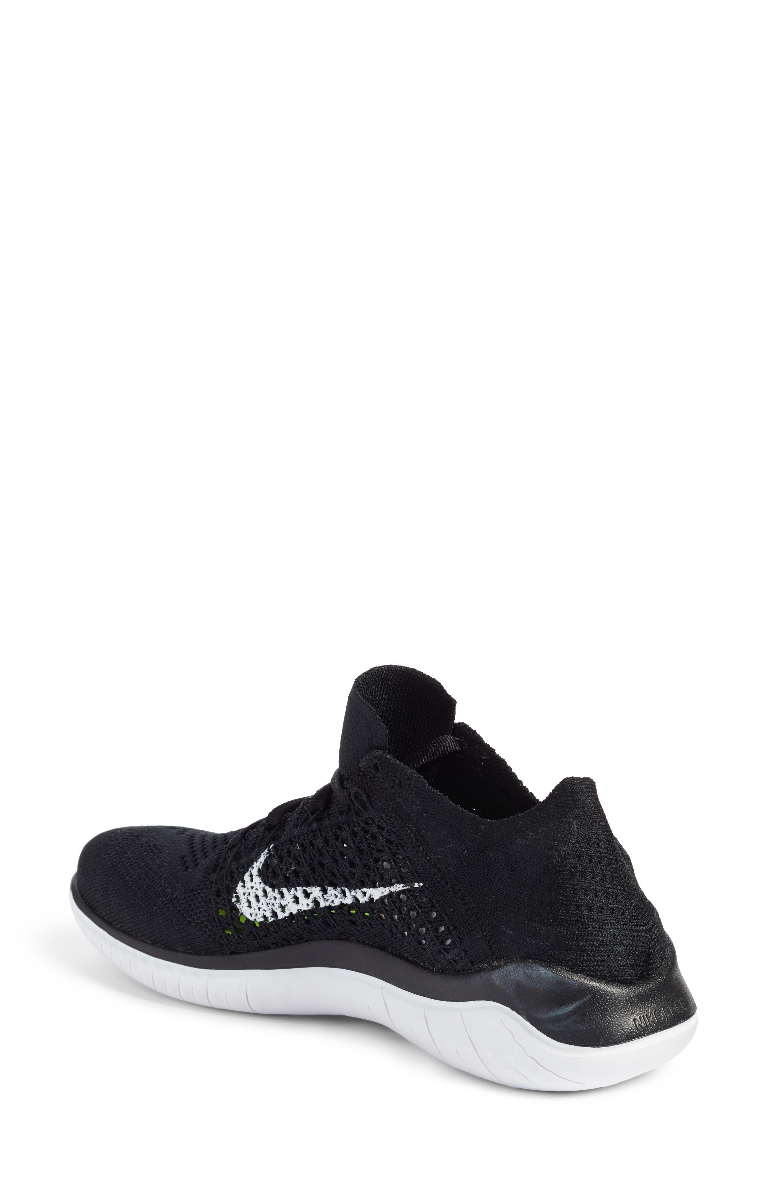 Alternate Image 2  - Nike Free RN Flyknit 2018 Running Shoe (Women)