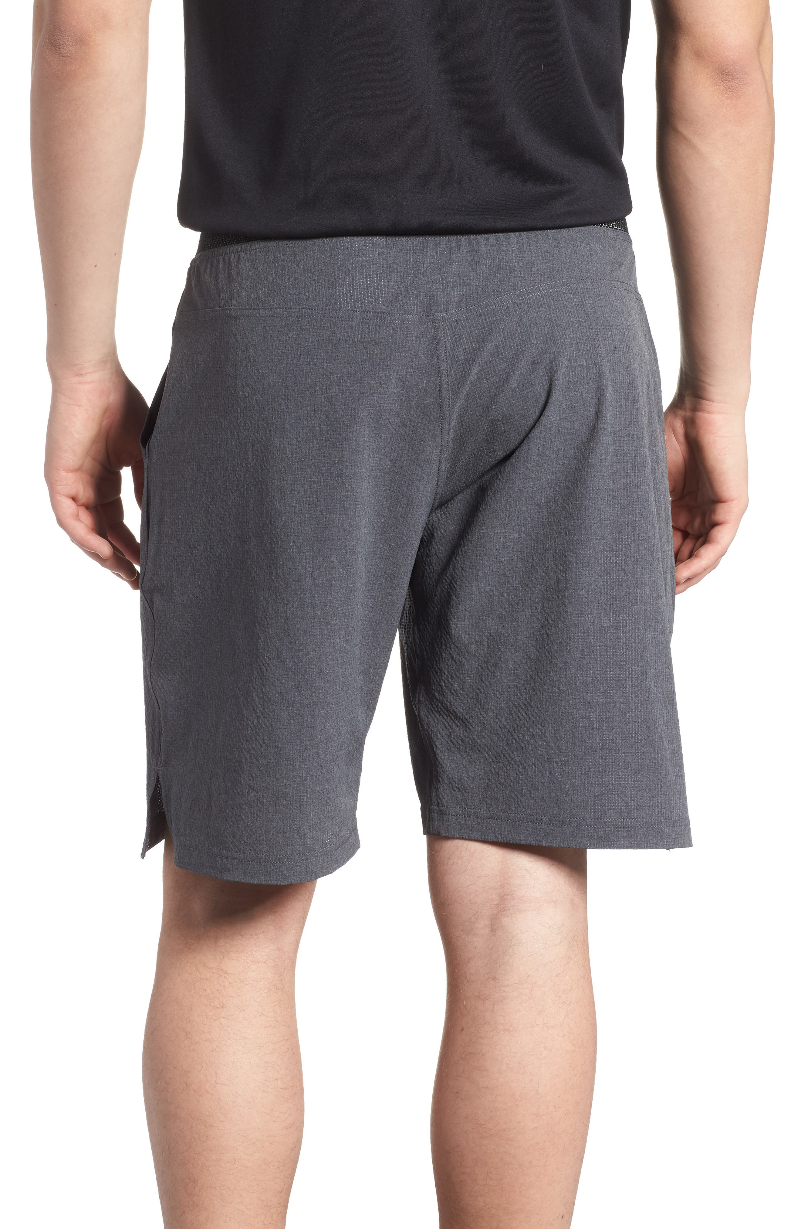 Epic Knit Shorts,                             Alternate thumbnail 2, color,                             Dark Grey Heather