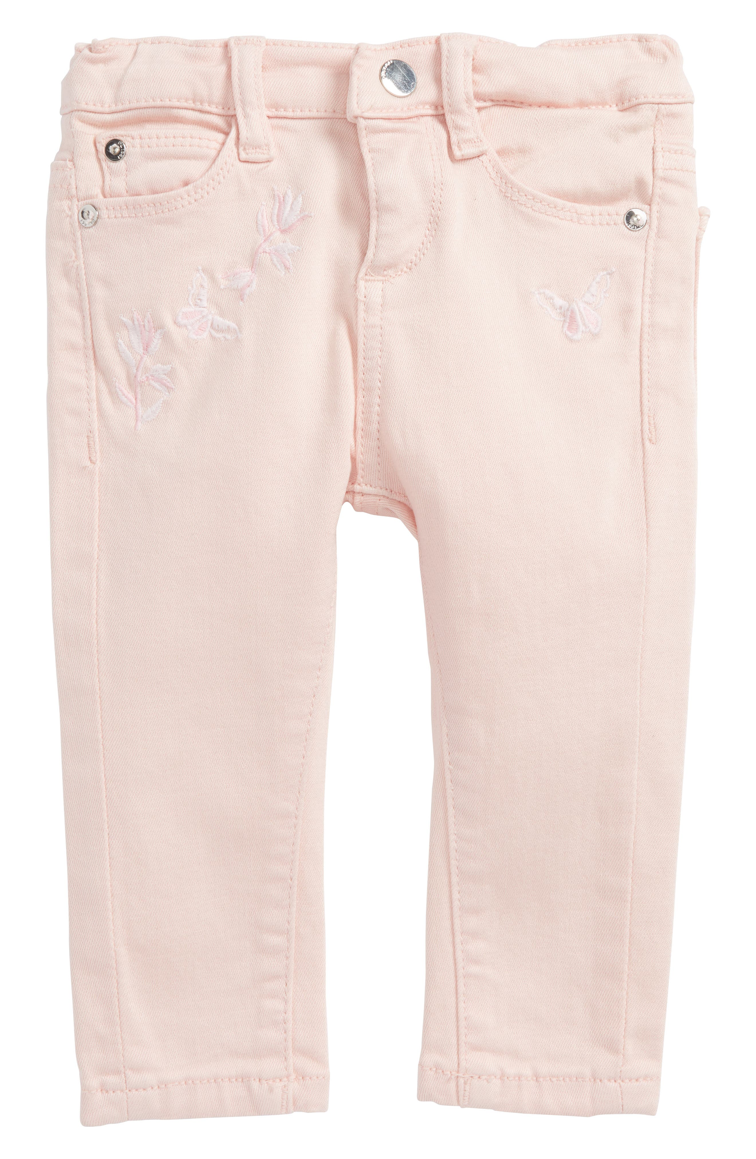 DL1961 Sophie Embroidered Slim Fit Jeans (Baby Girls)