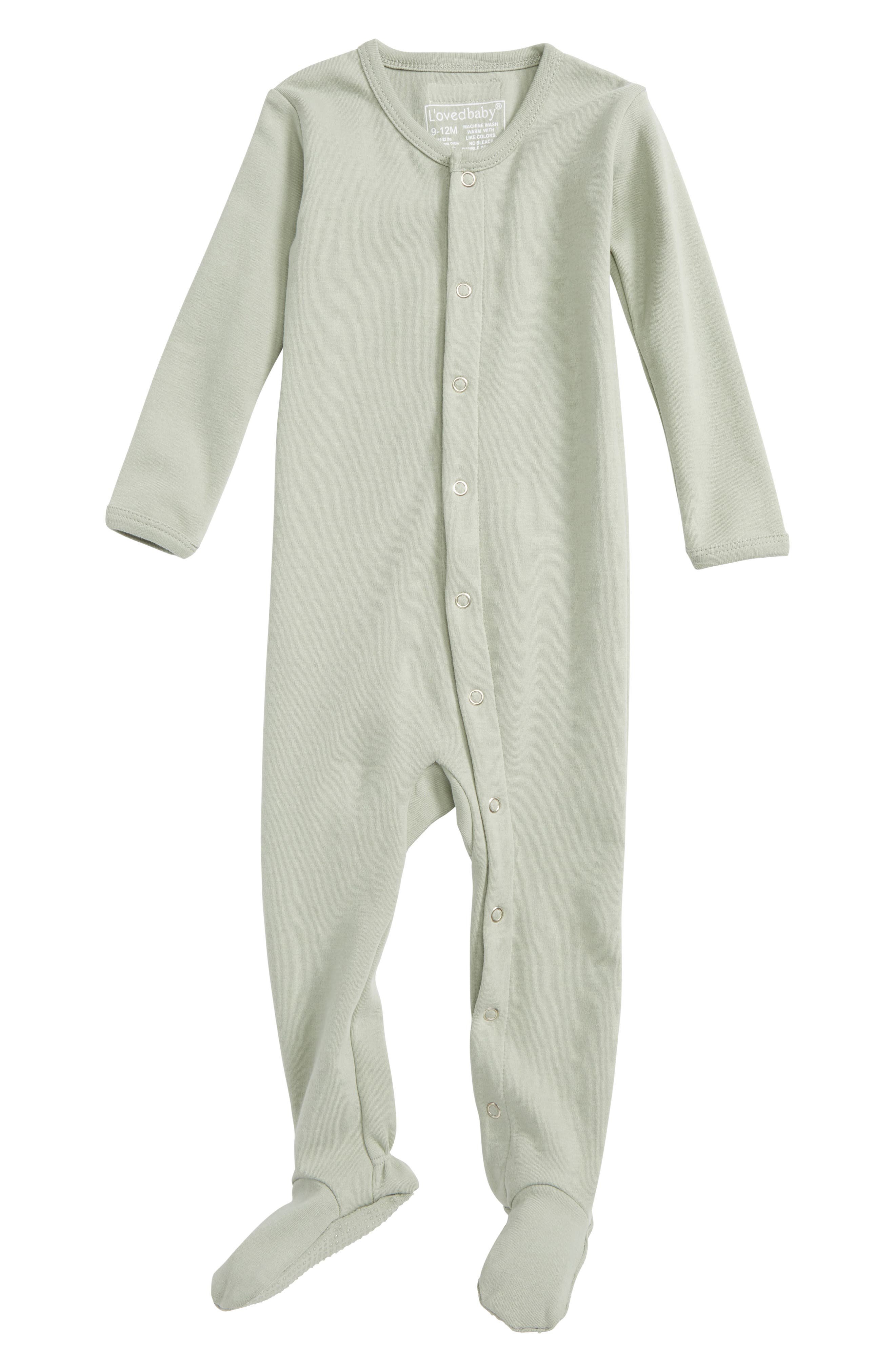 L'ovedbaby Organic Cotton Footie (Baby)