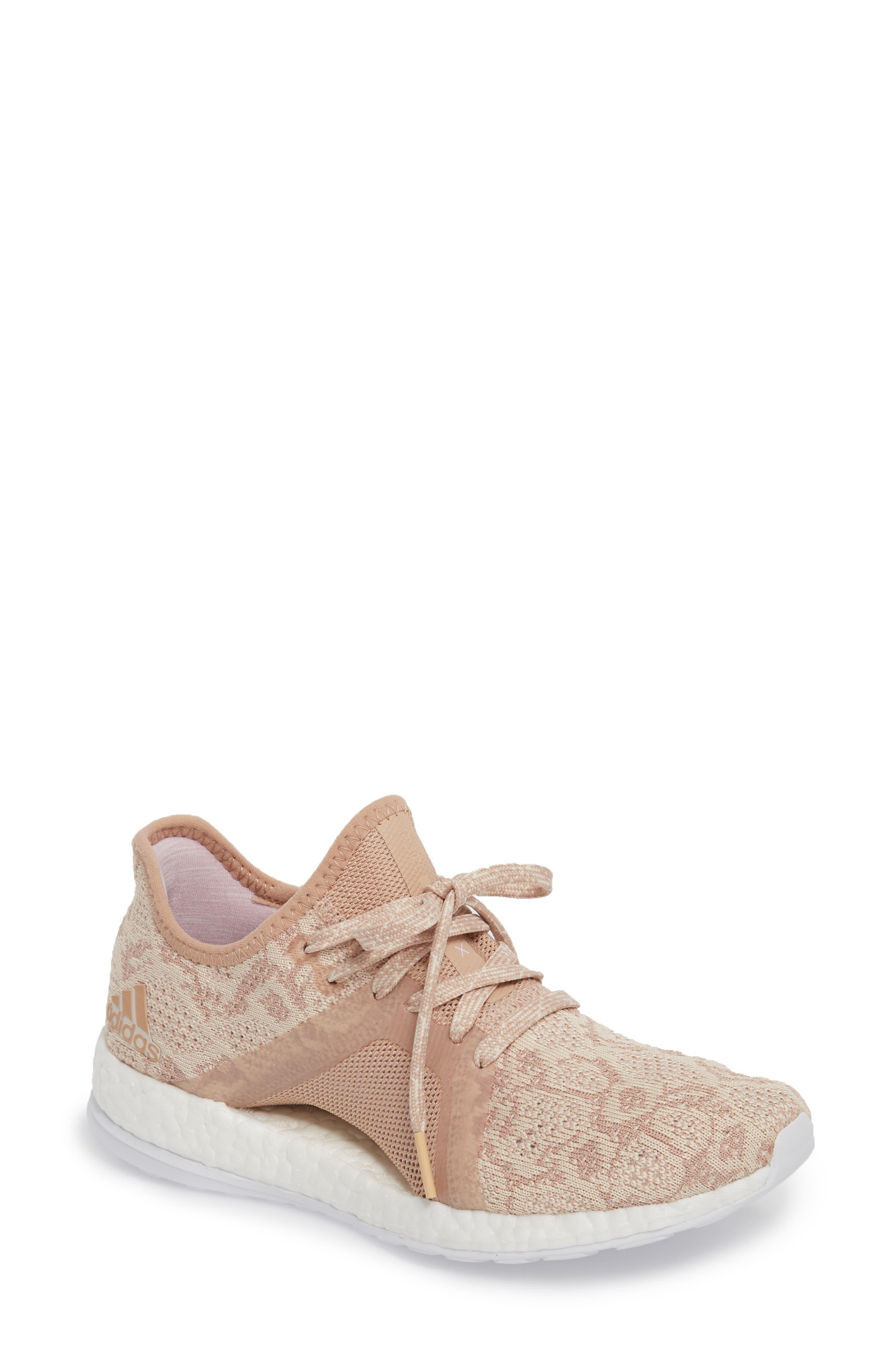 adidas PureBoost X Element Knit Running Shoe (Women)