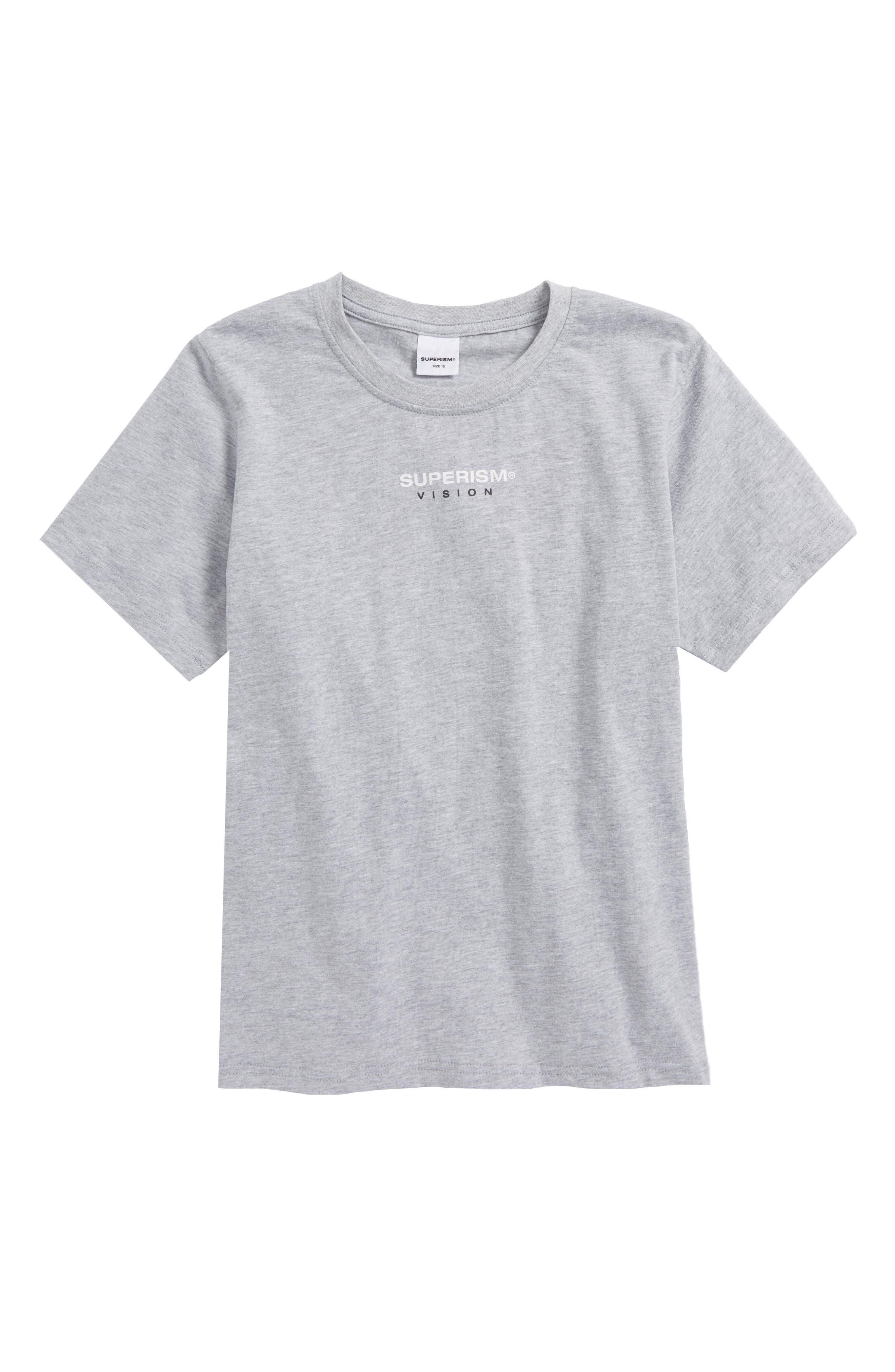 Rose Vision T-Shirt,                             Main thumbnail 1, color,                             Heather Grey