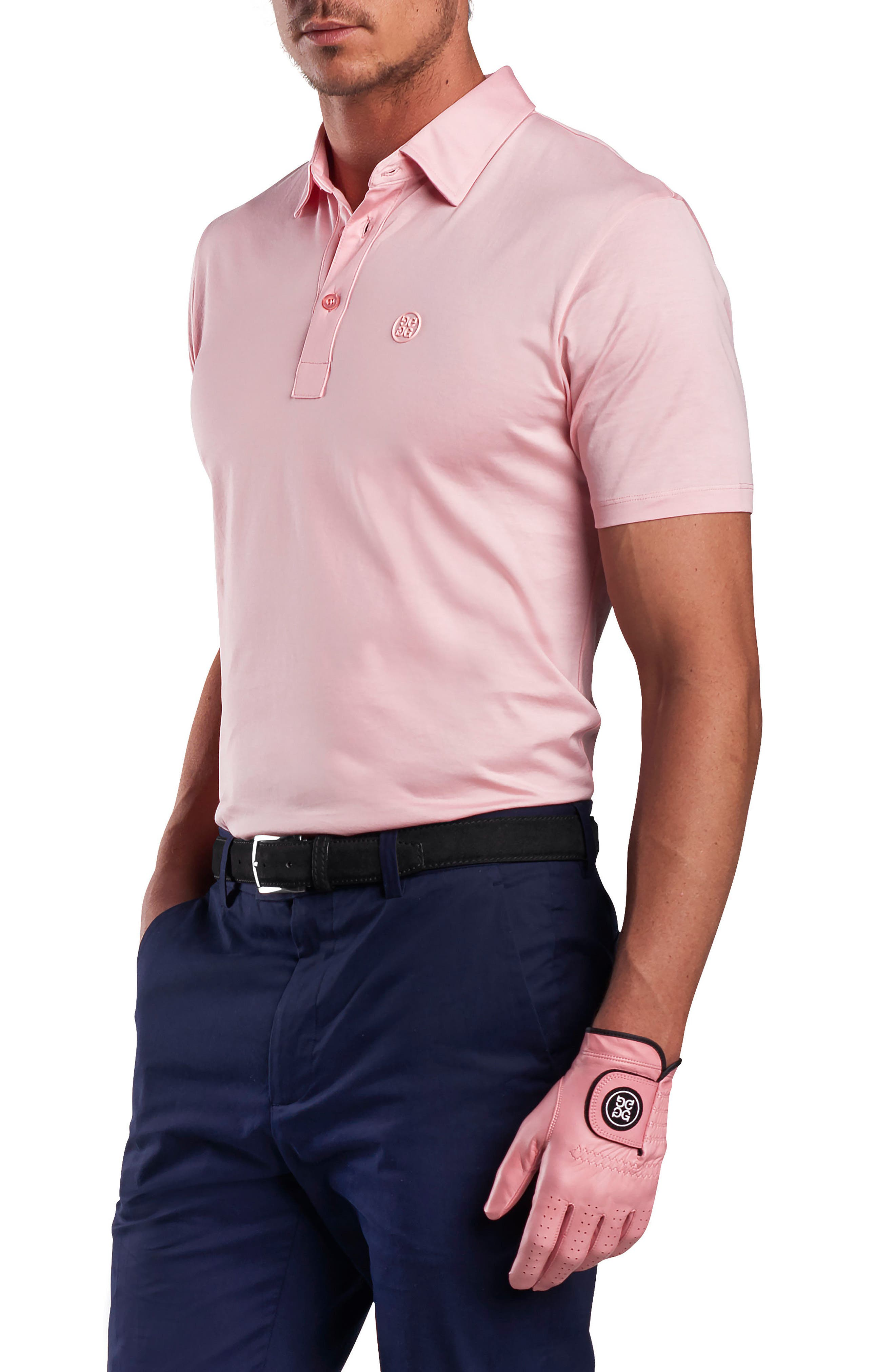 G/FORE ESSENTIAL REGULAR FIT POLO