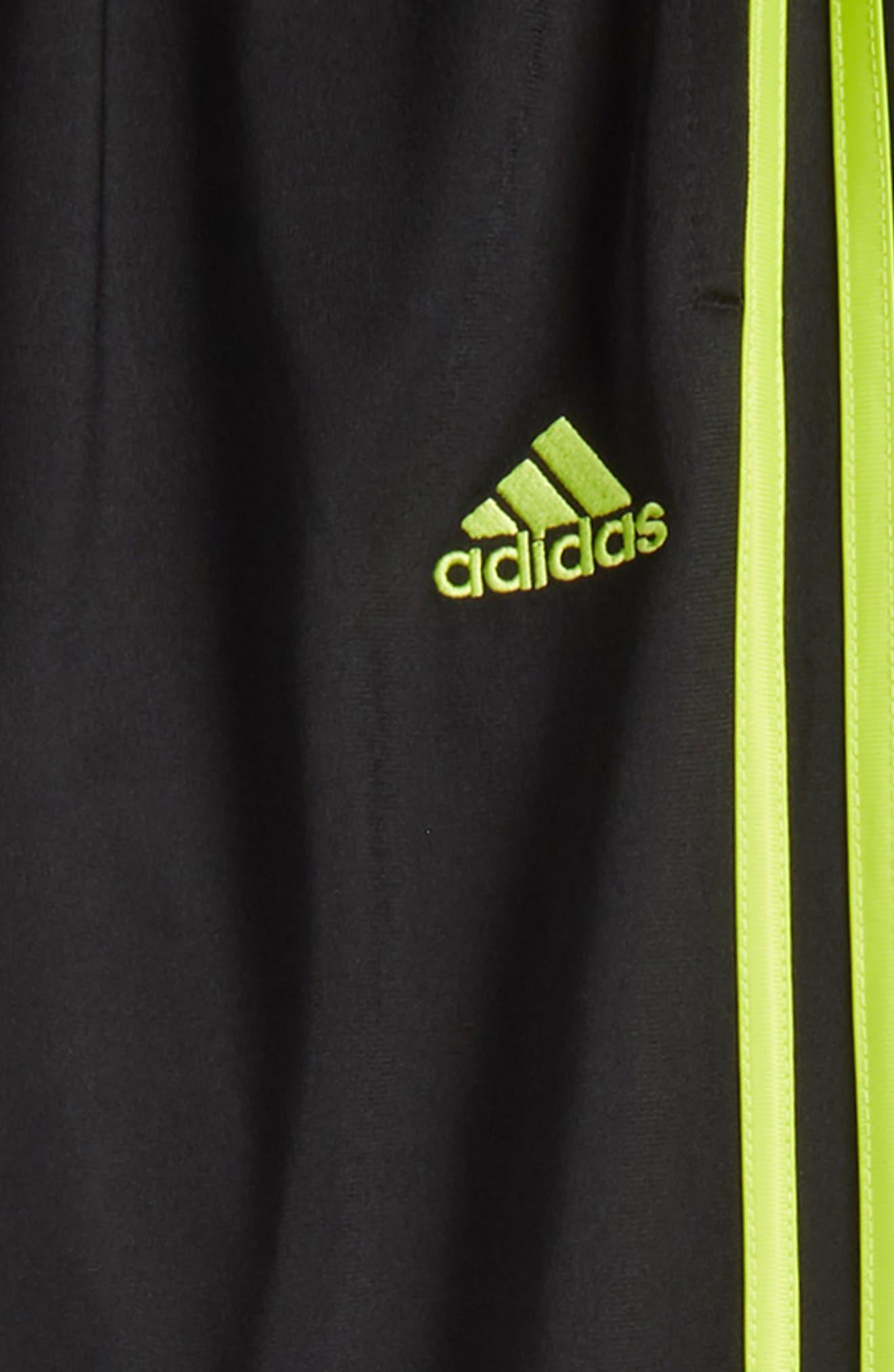 Iconic Jogger Pants,                             Alternate thumbnail 3, color,                             Black/ Yellow