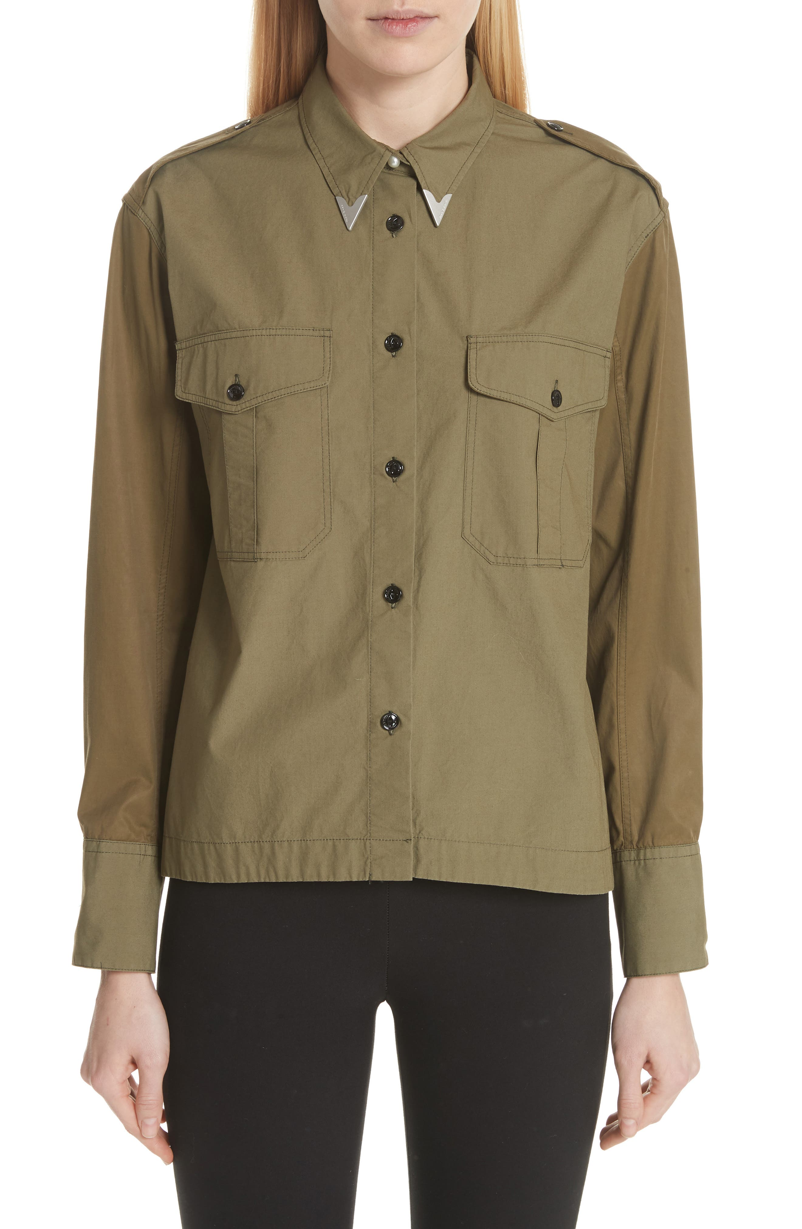 Pearson Shirt,                             Main thumbnail 1, color,                             Dusty Olive