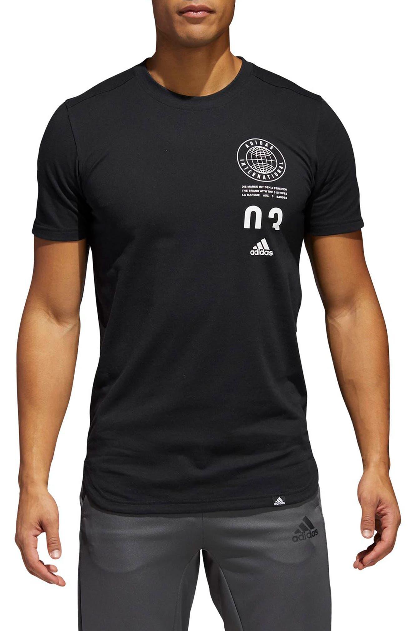 adidas 3-Stripes Regular Fit T-Shirt