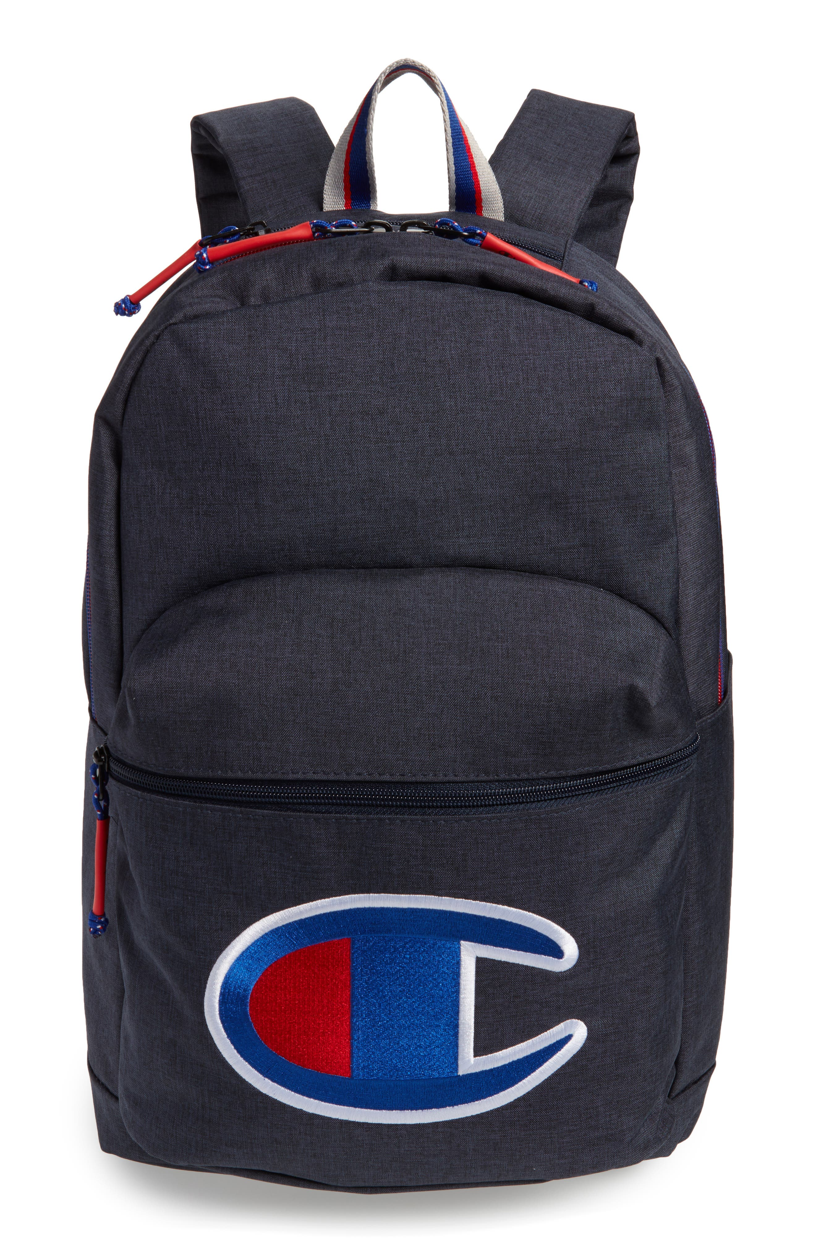 Supercize Backpack,                         Main,                         color, Navy Heather