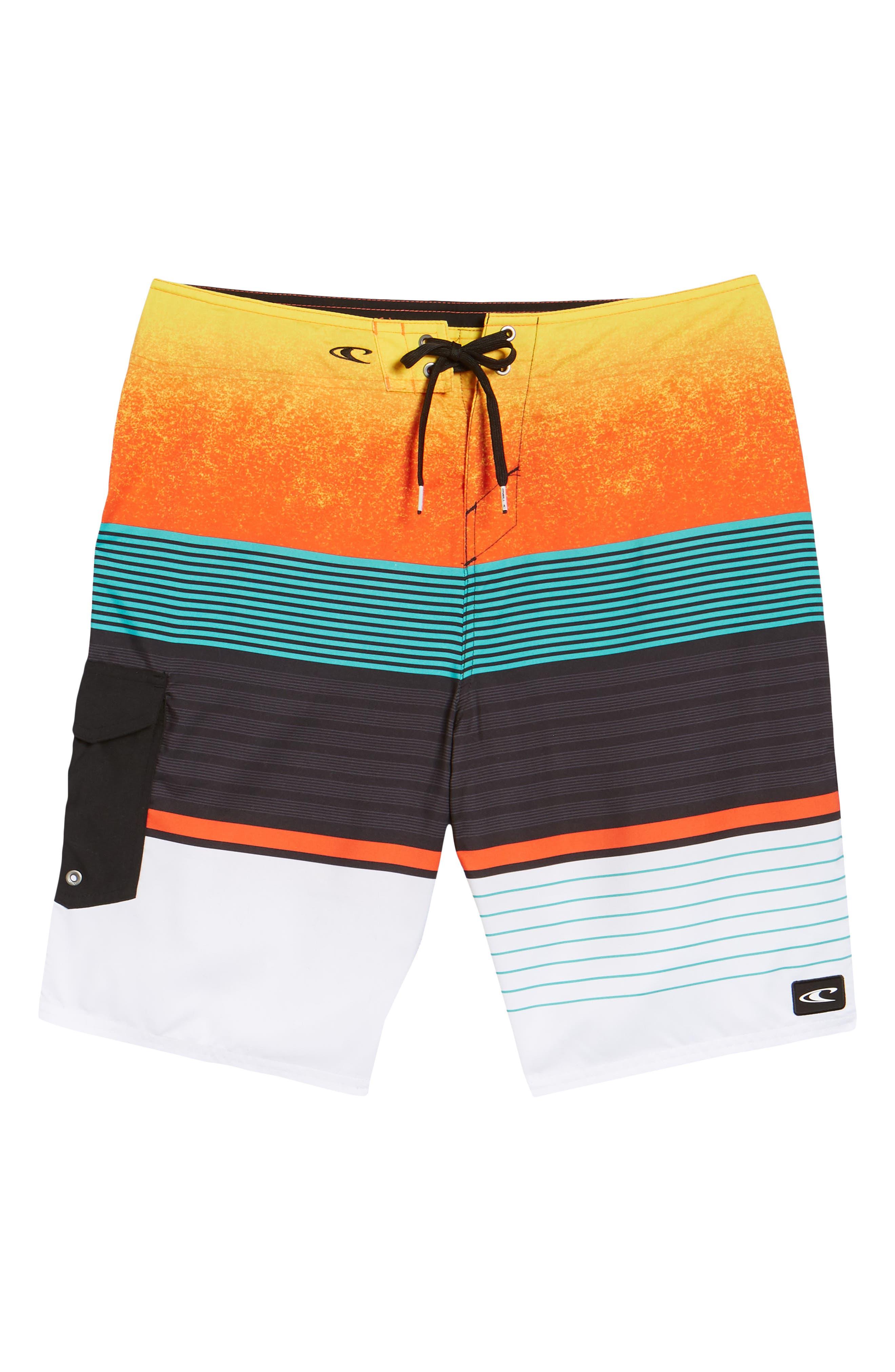 Lennox Board Shorts,                             Alternate thumbnail 6, color,                             Orange